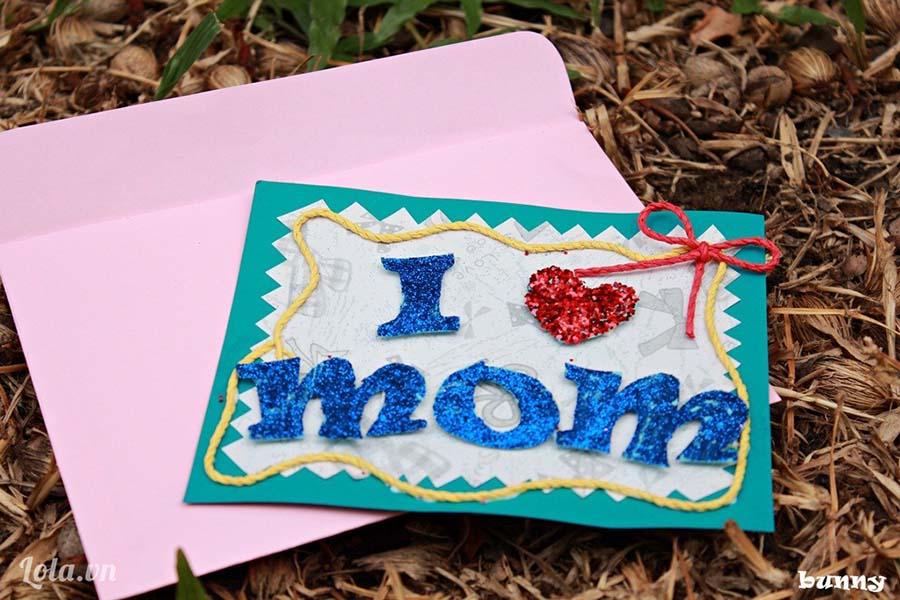 Hình ảnh thiệp handmade tặng mẹ ngày 8-3 đẹp nhất