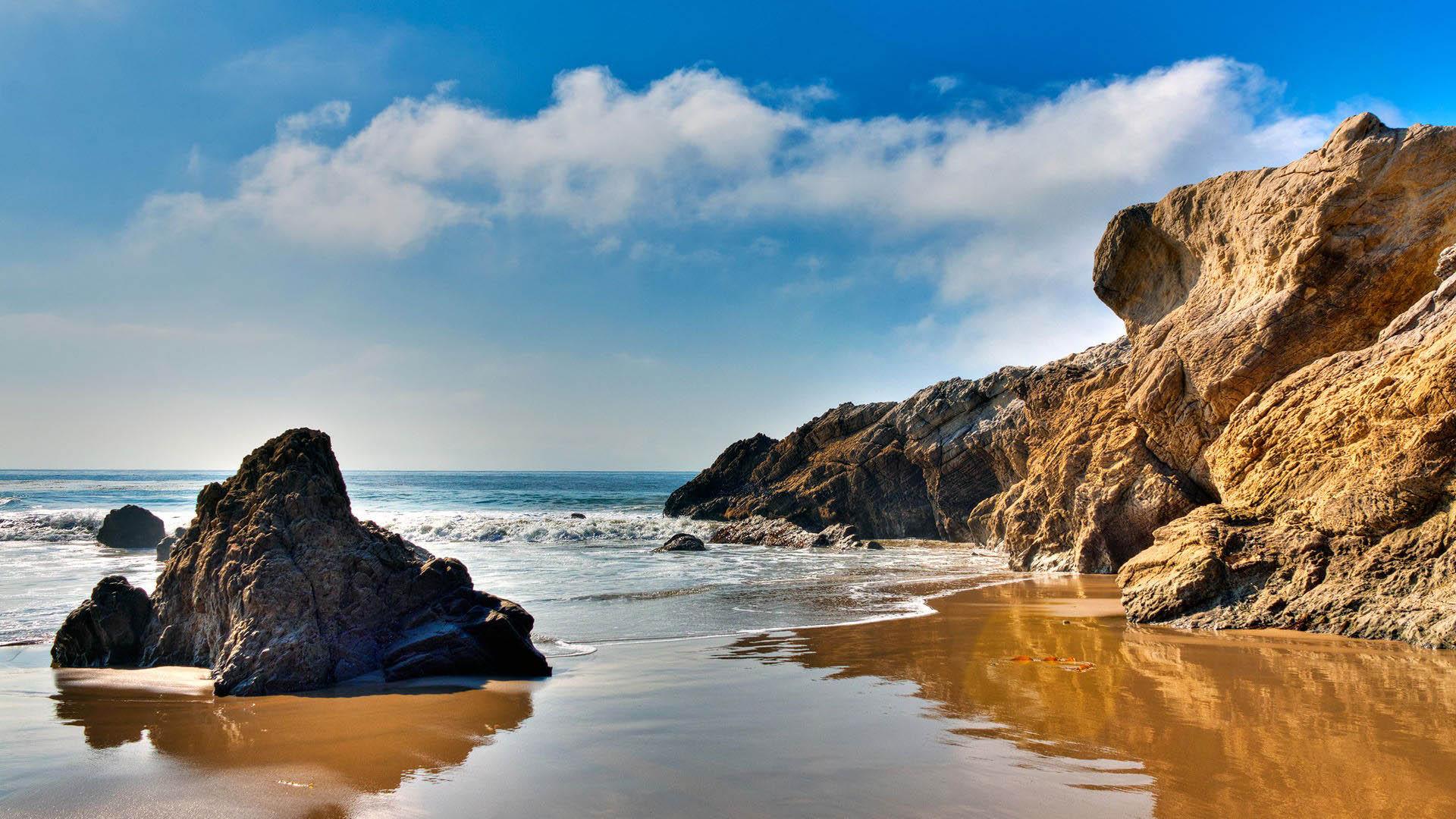 Ảnh nền bãi biển đẹp cho máy tính