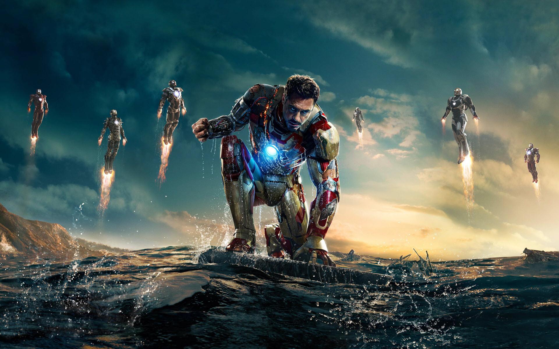 Hình nền Iron Man cho máy tính