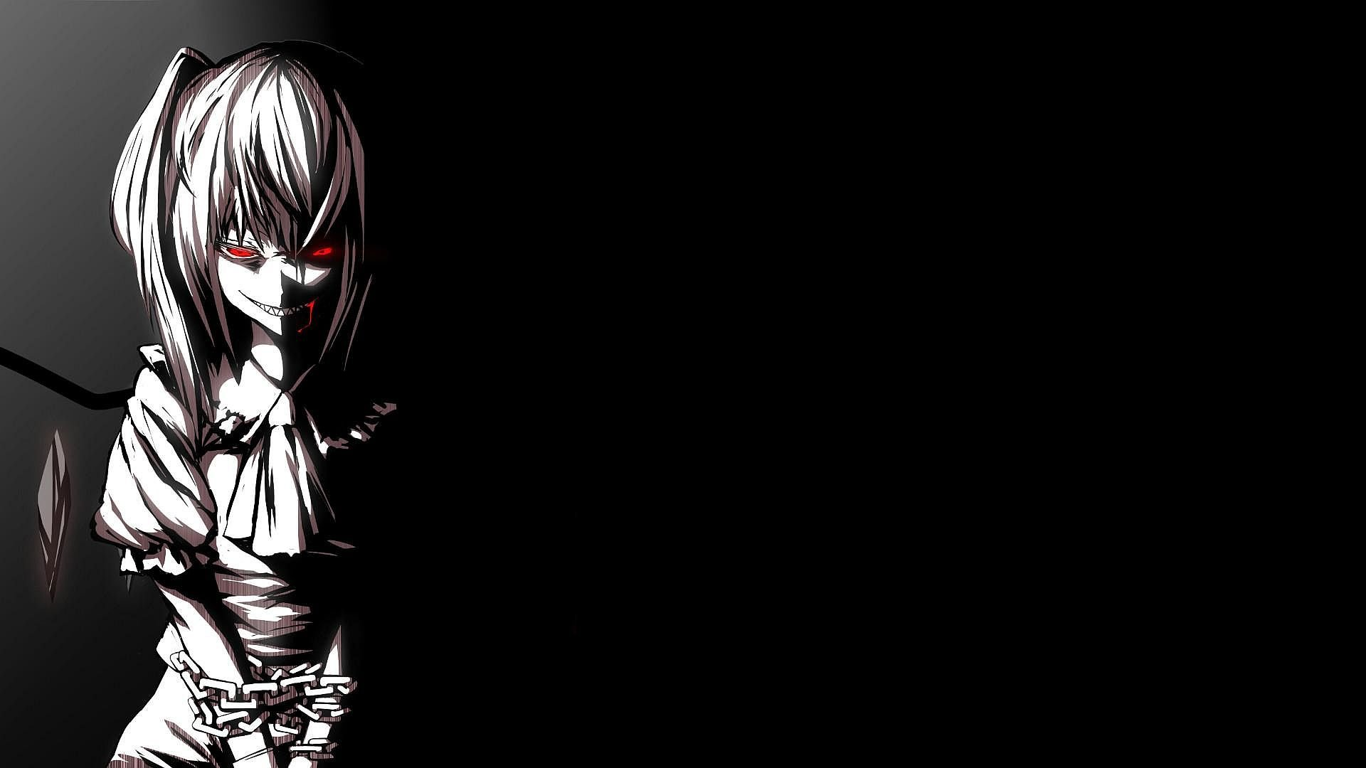 Black anime wallpaper HD