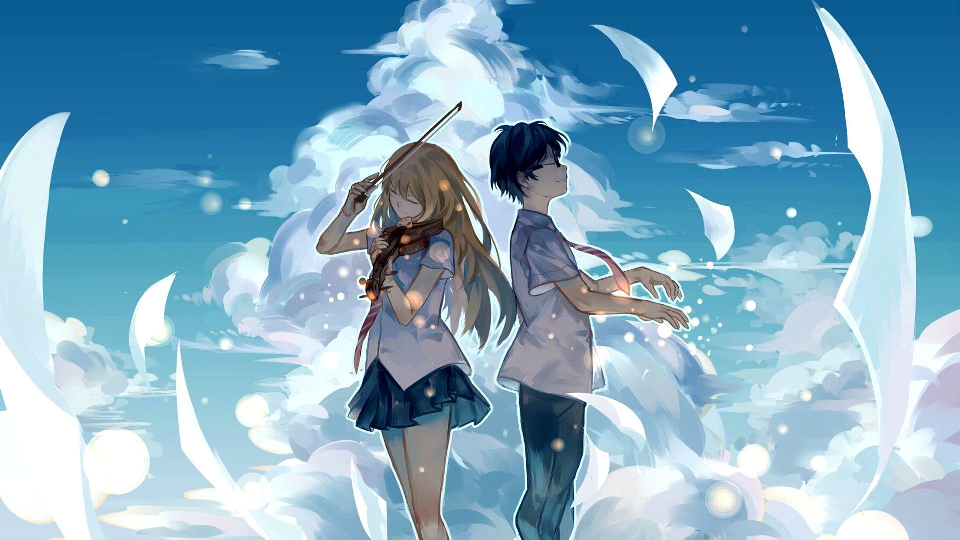 Cute anime wallpaper