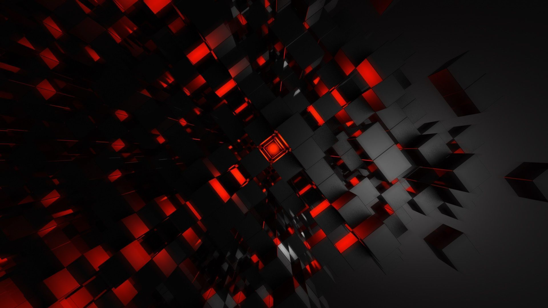 Wallpaper red and black