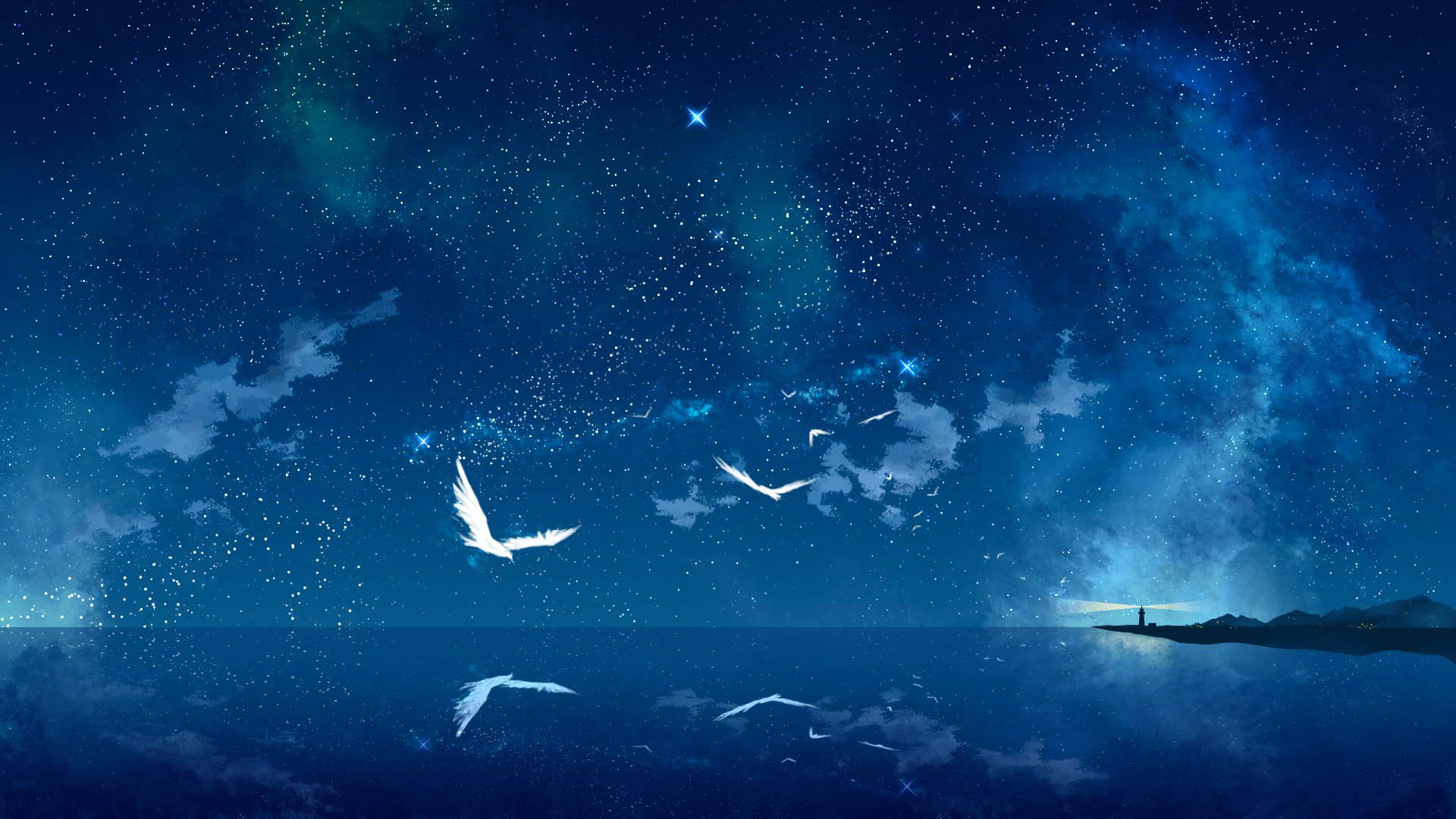Animated sky wallpaper