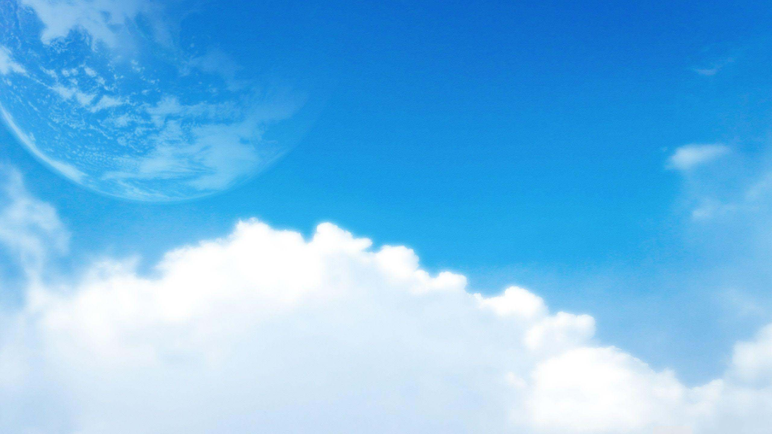 Beautiful cloud sky wallpaper