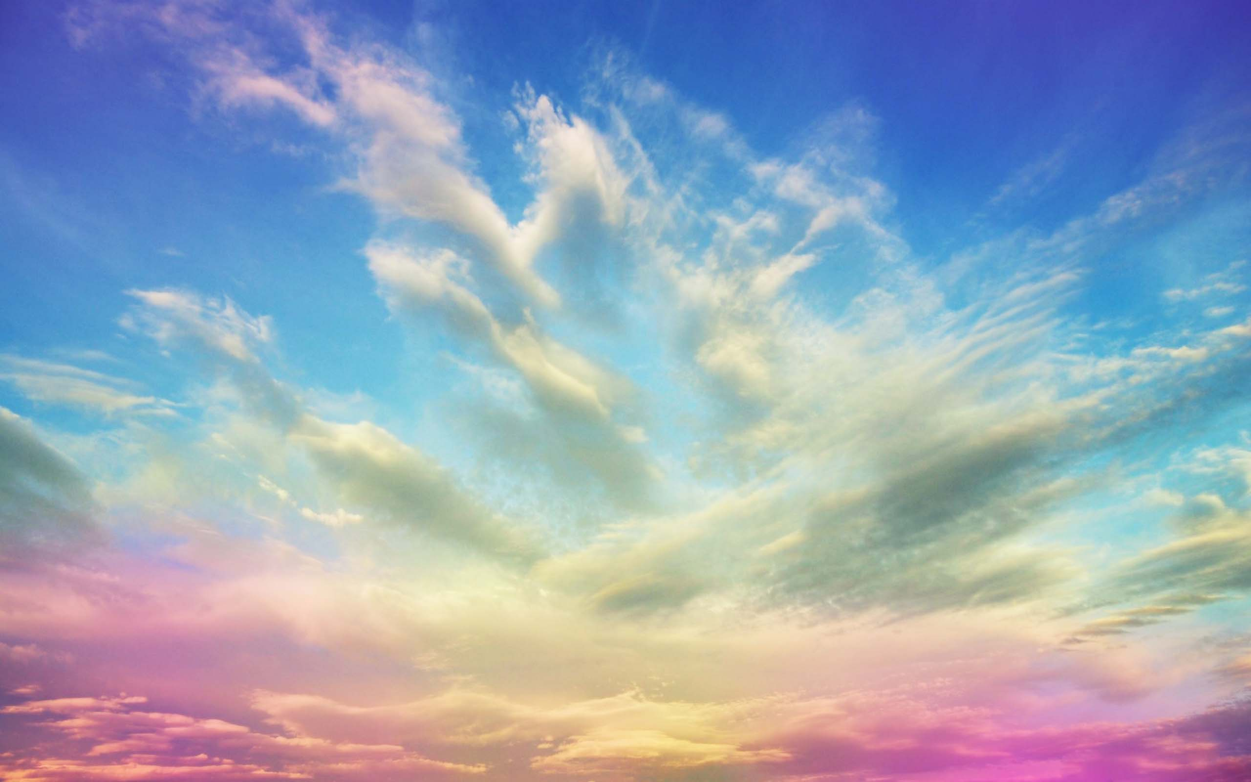 Color sky wallpaper