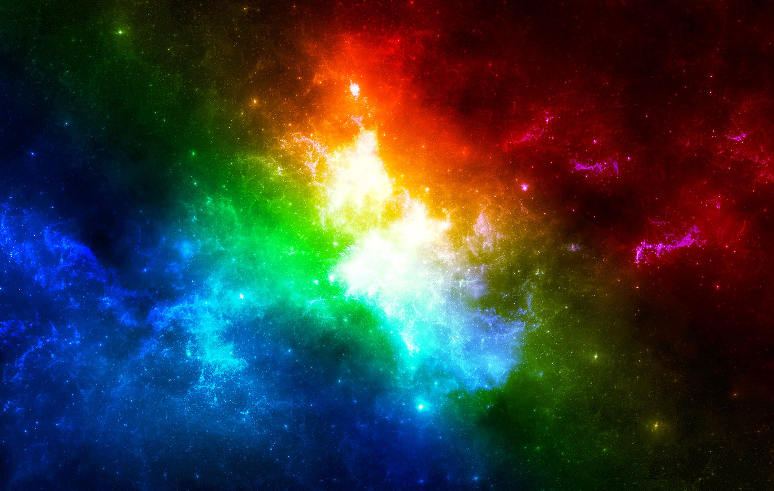 Colorful galaxy wallpaper