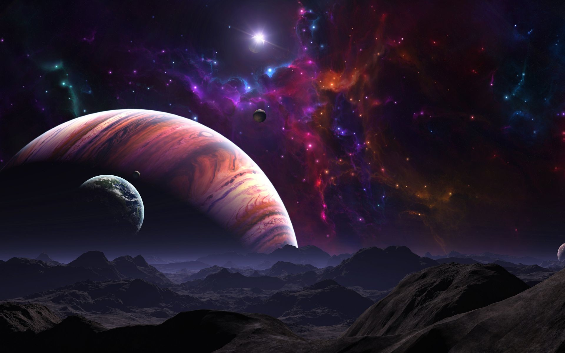 Galaxy desktop wallpaper