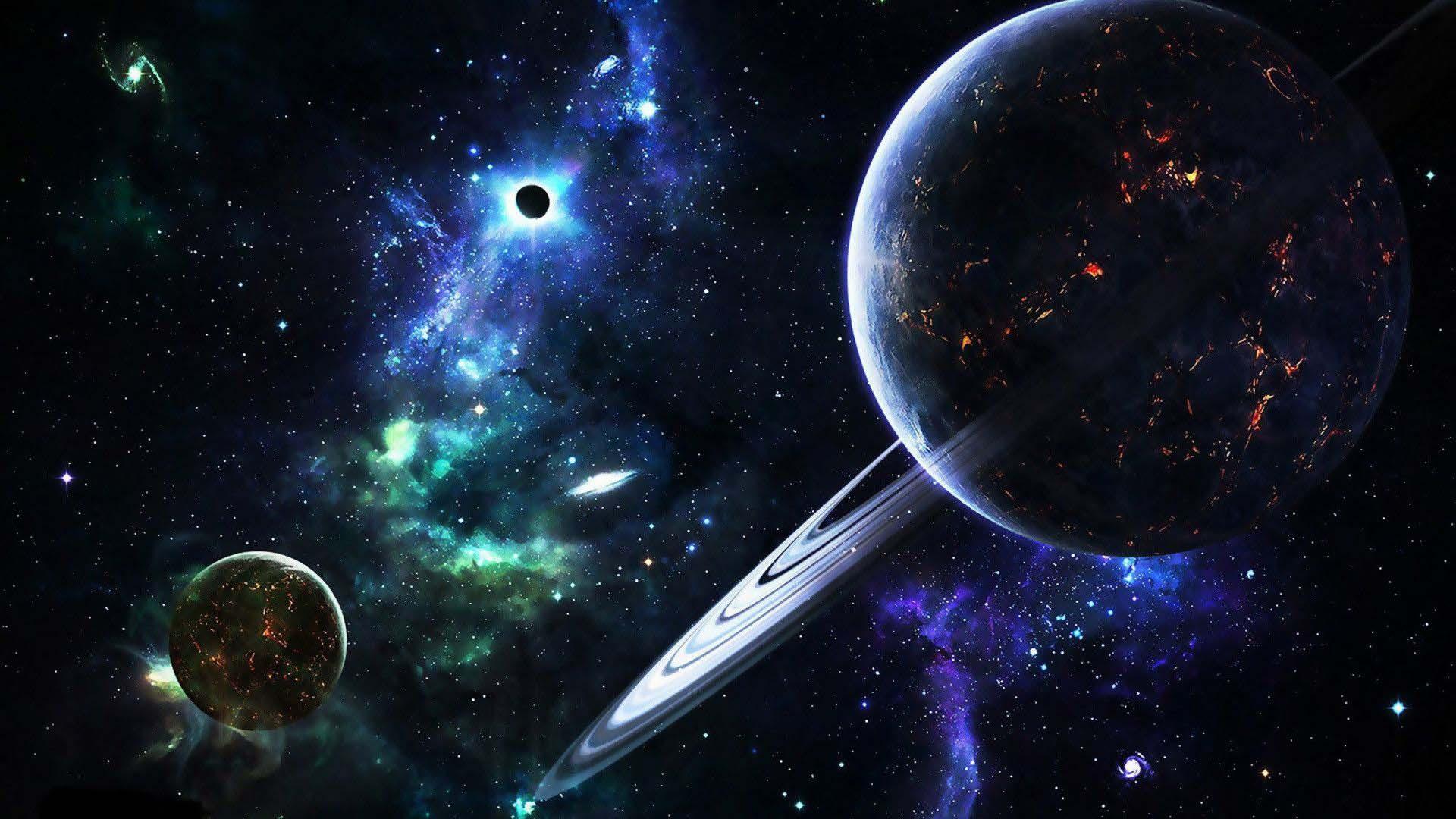 Galaxy planet wallpaper hd
