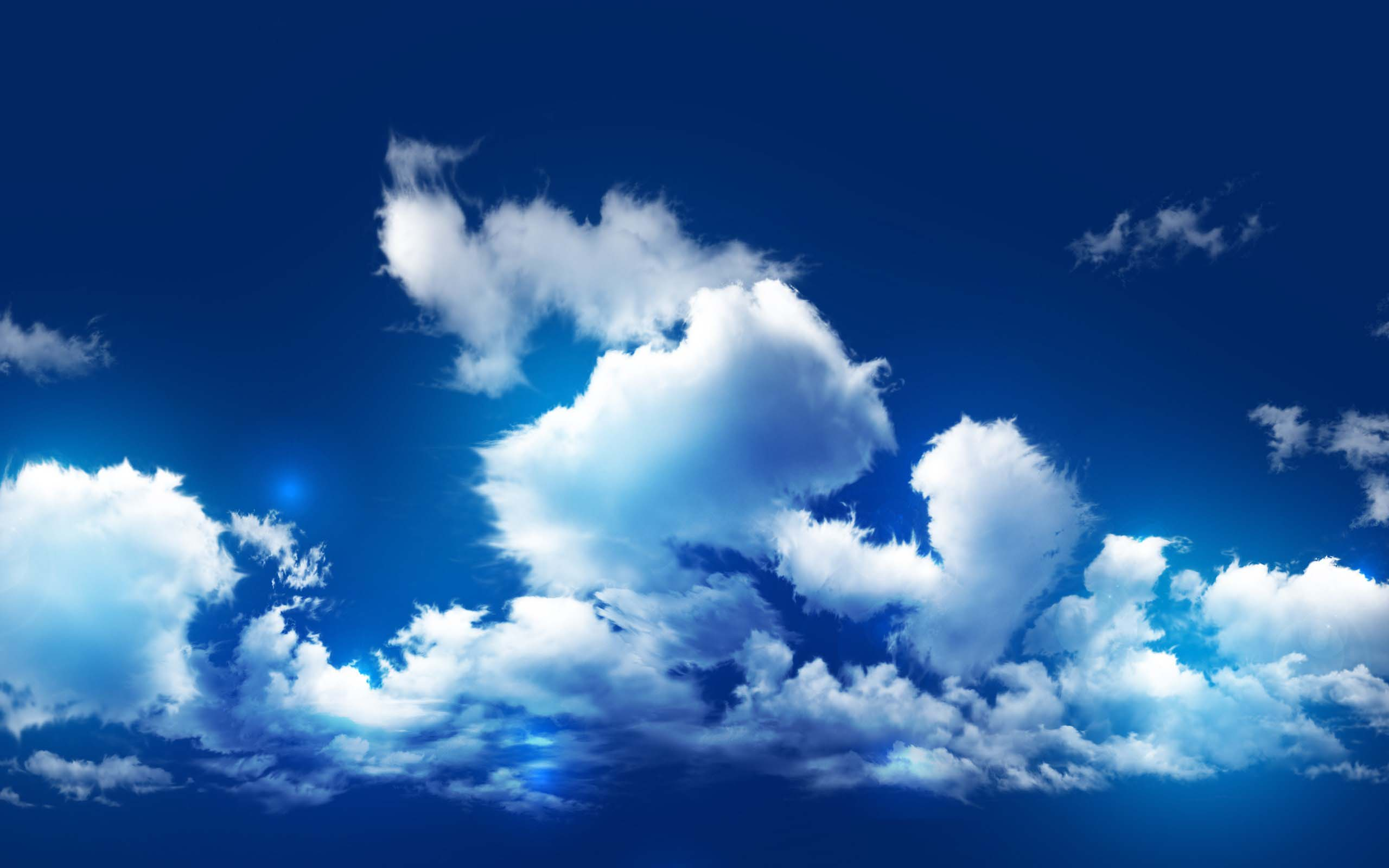 Nice cloud sky wallpaper