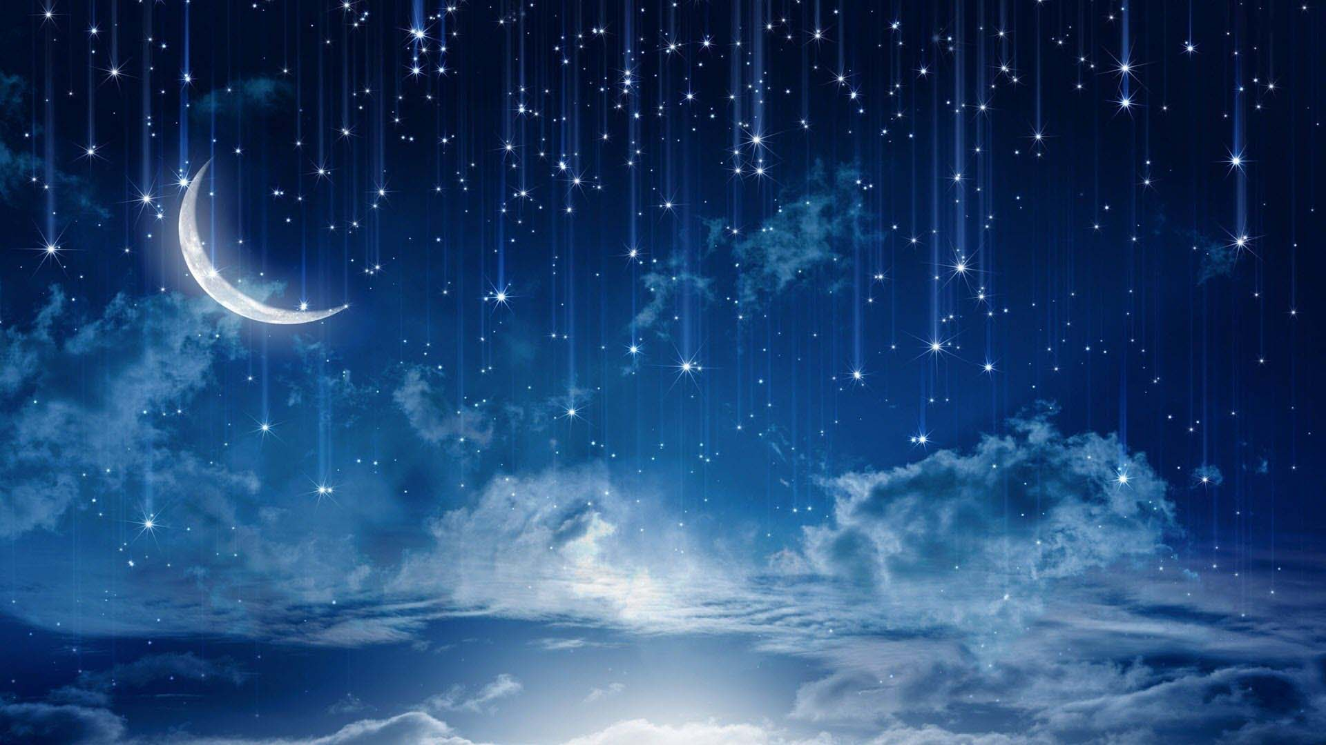 Night sky wallpaper 1920x1080