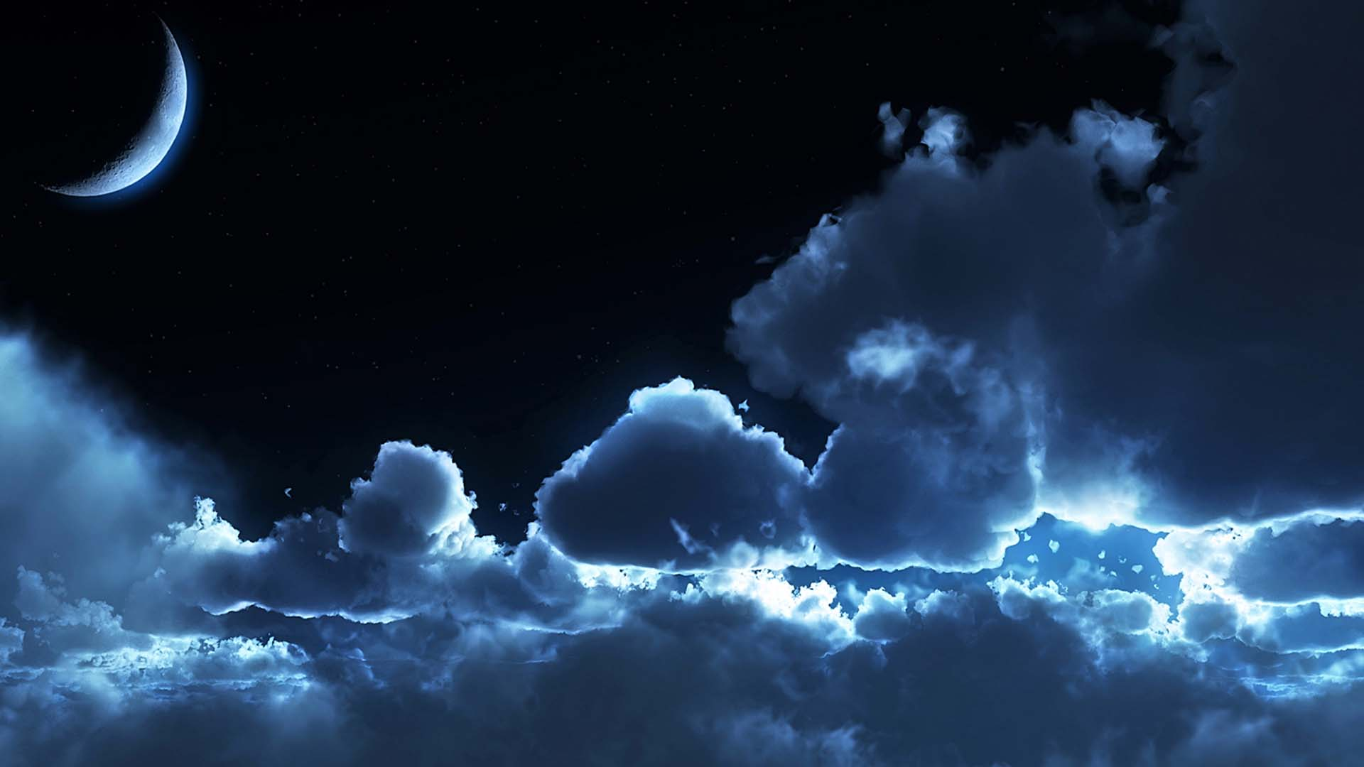 Night sky wallpaper hd