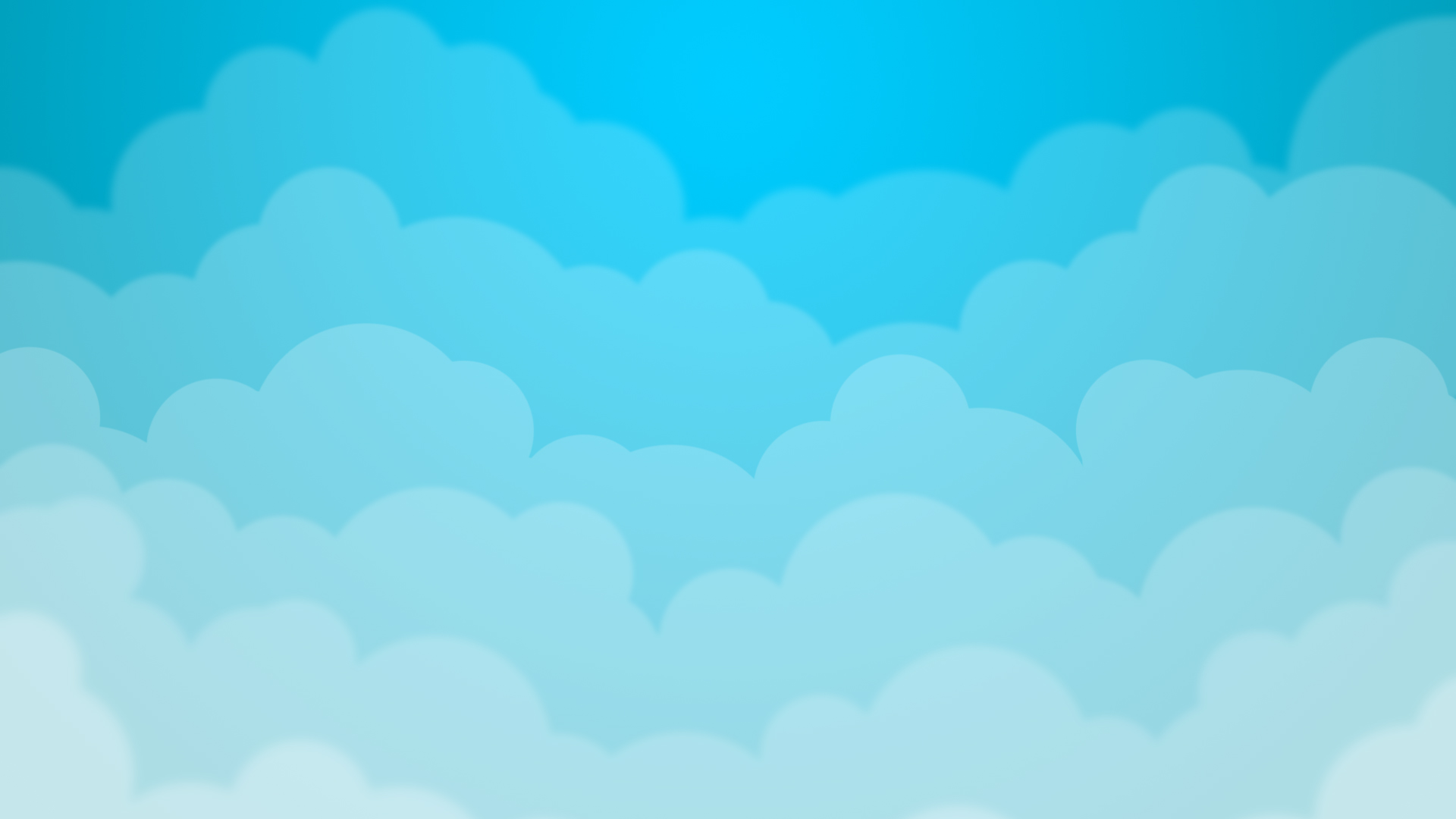 Blue cloud wallpaper