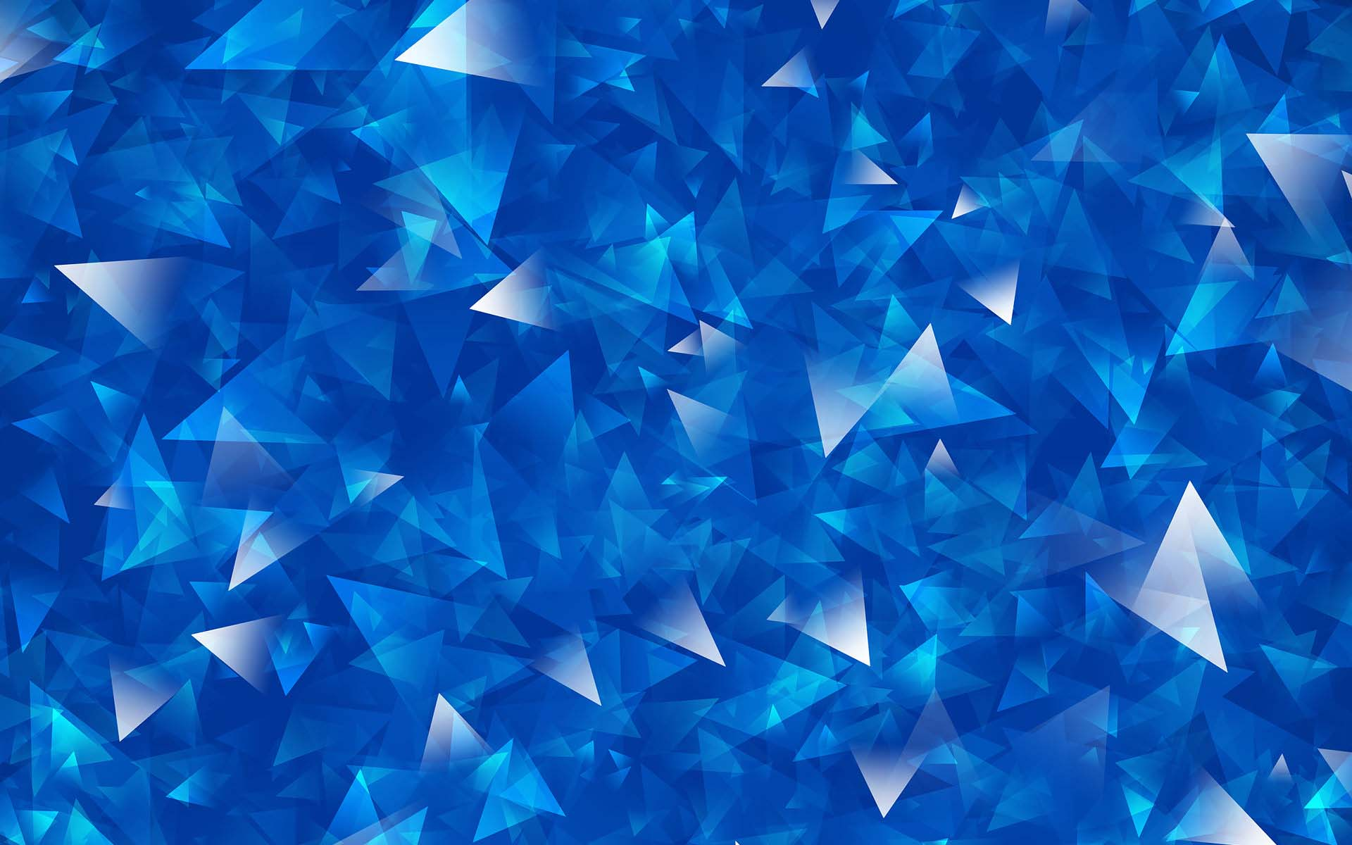 Blue polygon wallpaper