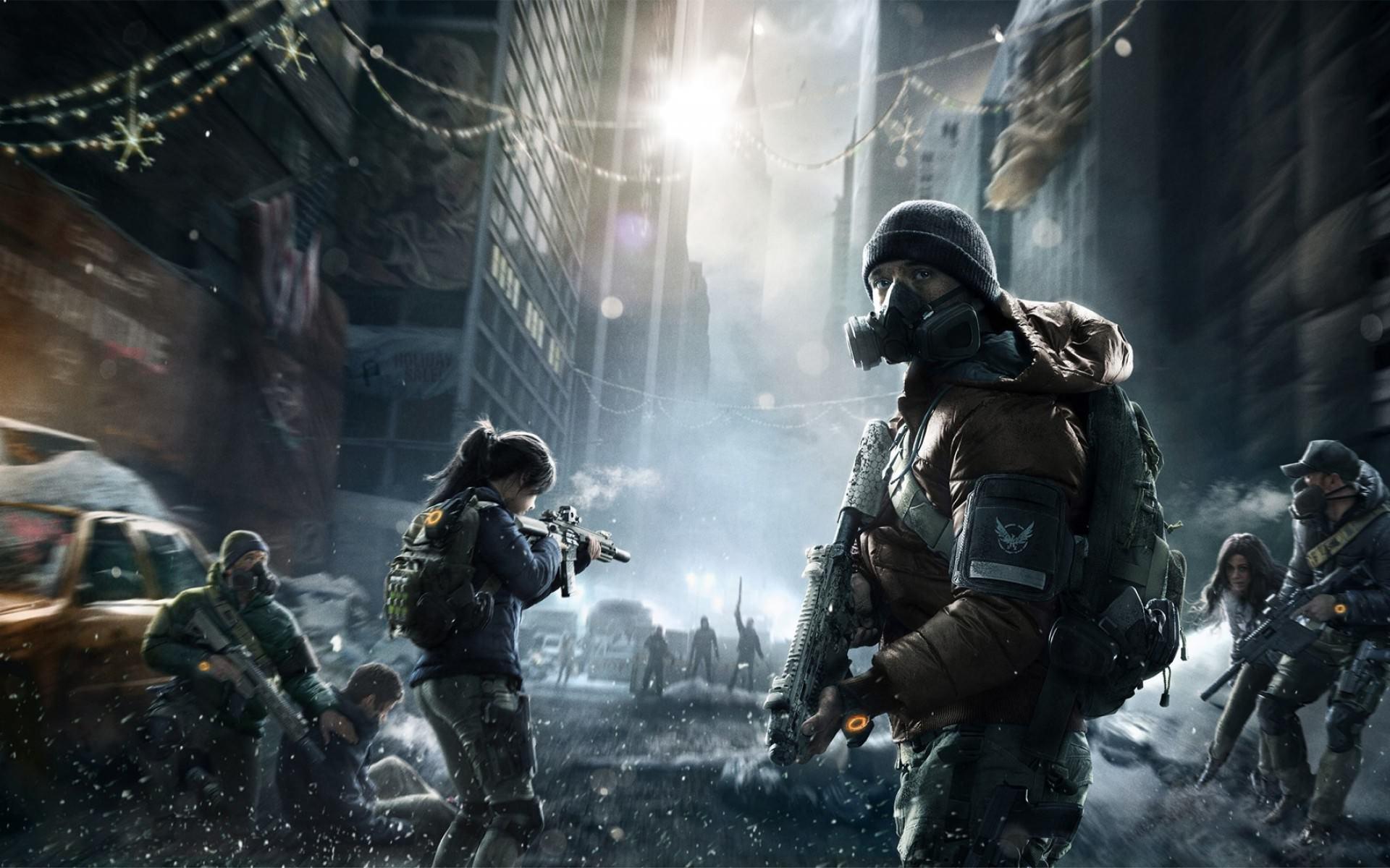 FPS game wallpaper