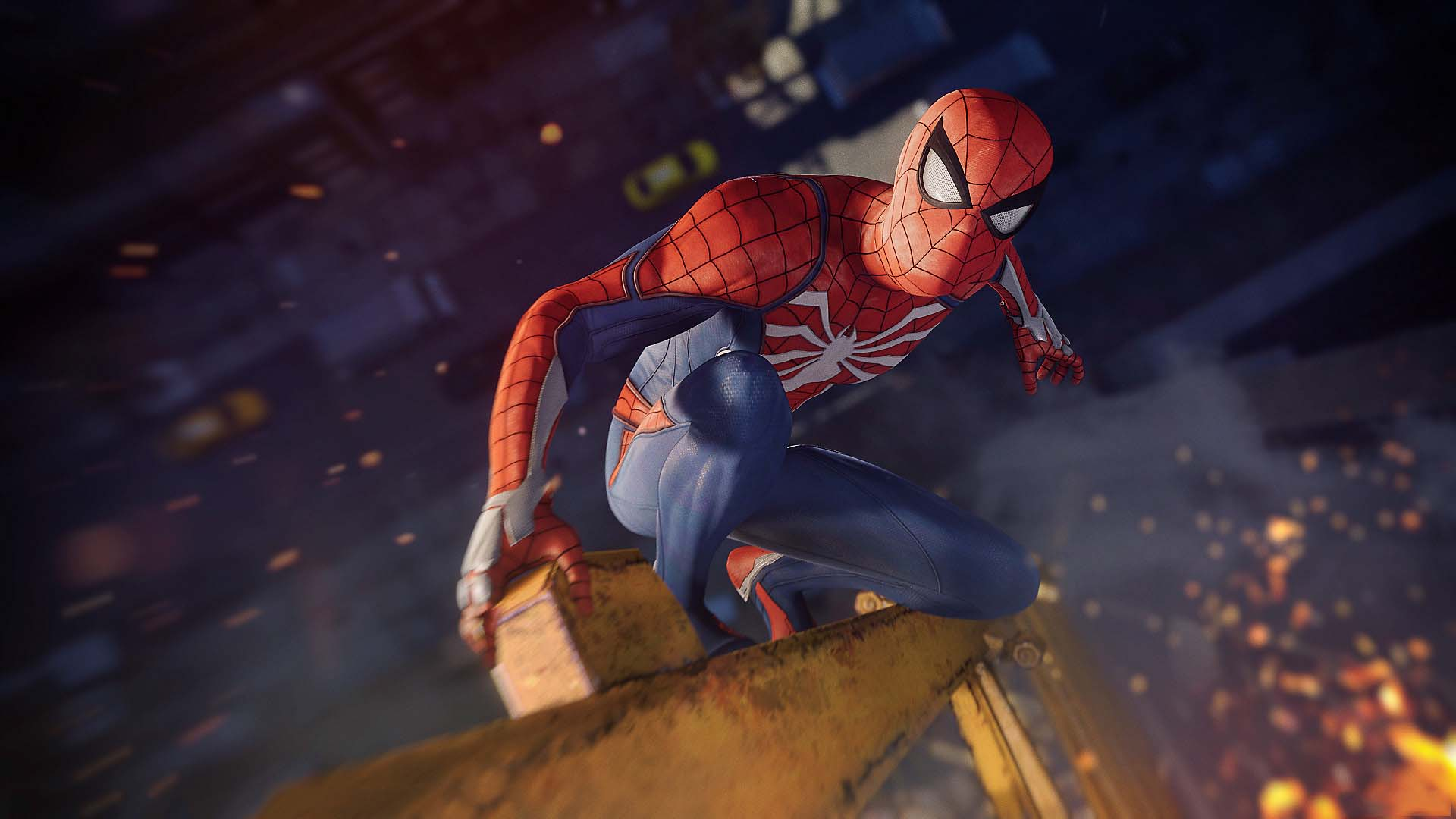 Spider man game wallpaper