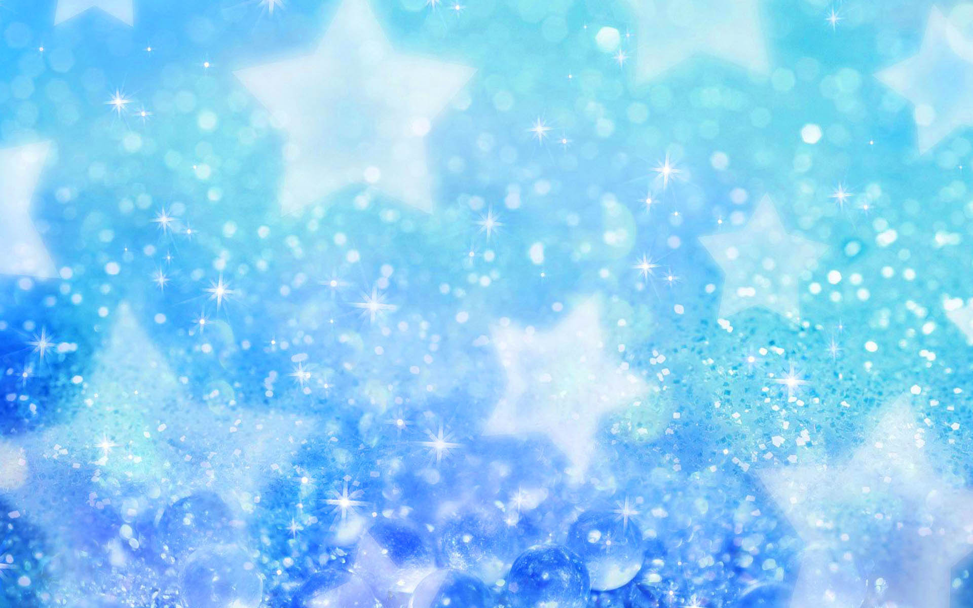 Wallpaper blue star