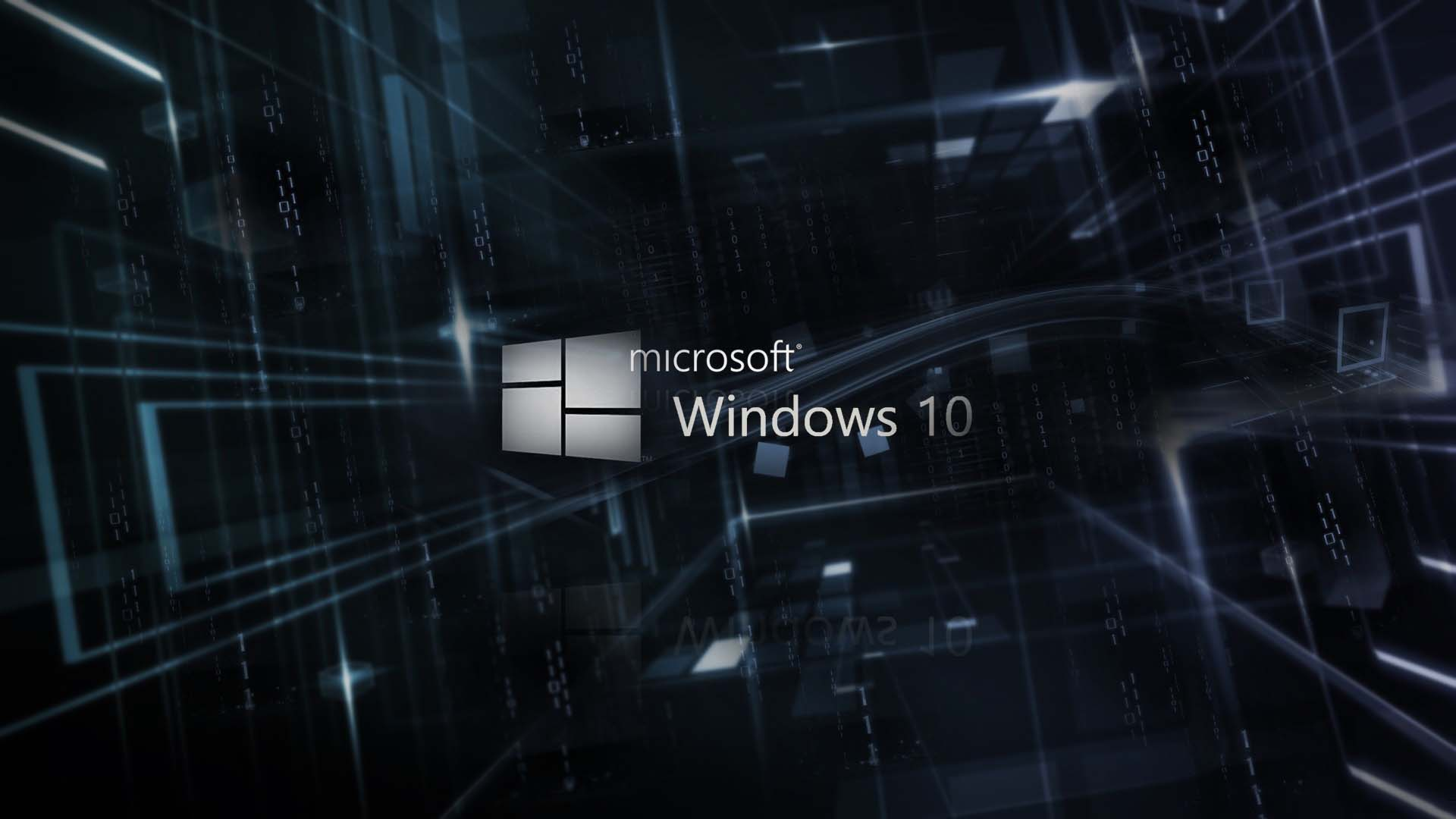 3D windows 10 wallpaper