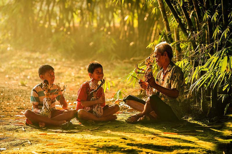 Chùm ảnh về tình yêu với cuộc sống ở vùng thôn quê