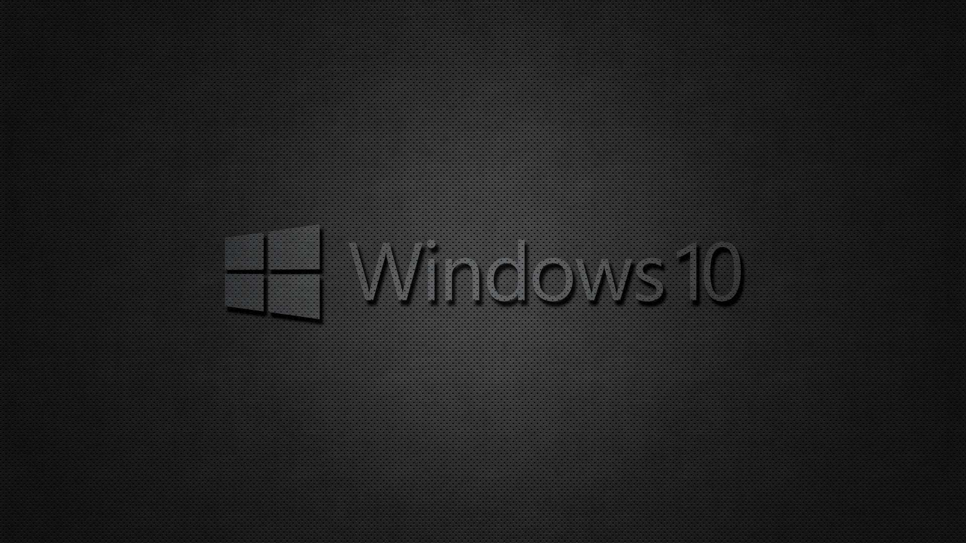Dark windows 10 wallpaper