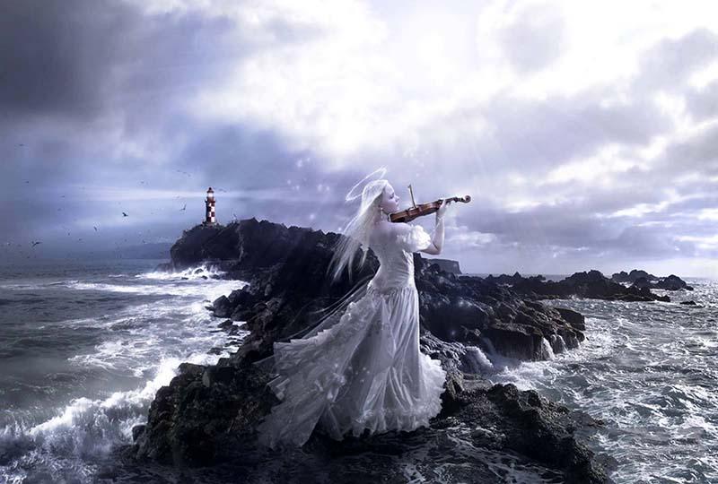 Hình ảnh đẹp nhất về sự cô đơn giữa biển đời mênh mông của cuộc sống
