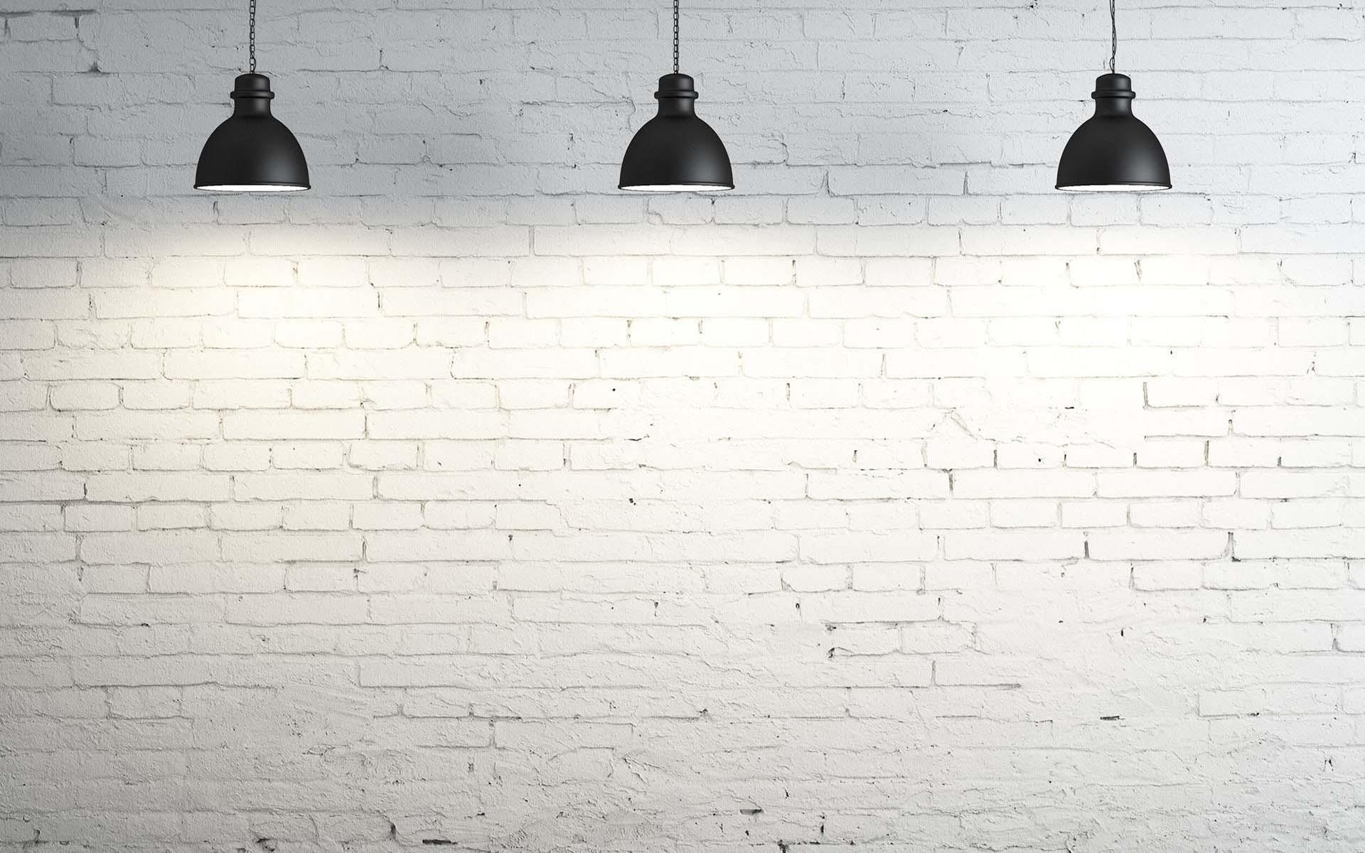 White wall wallpaper