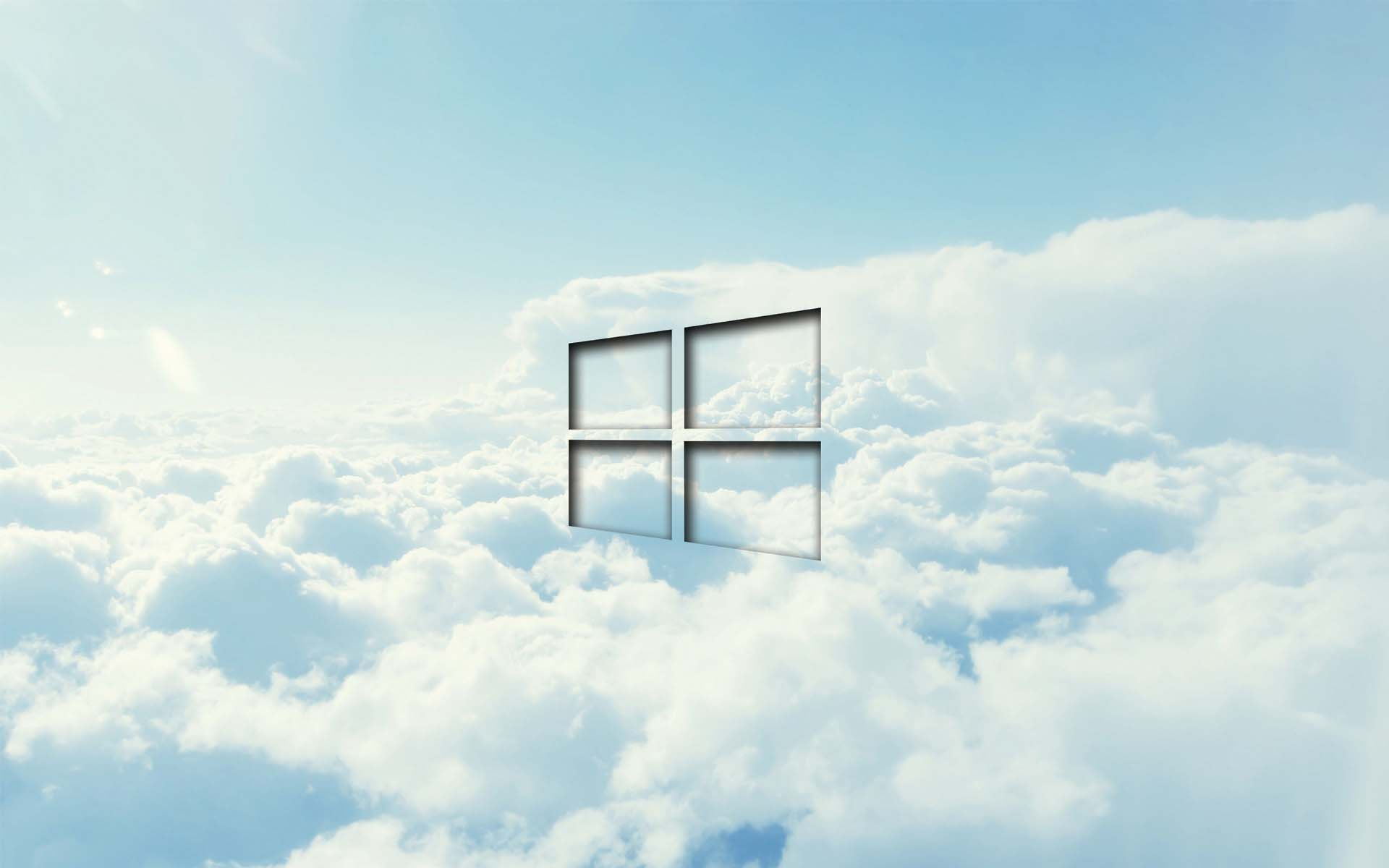 Windows 10 wallpaper cloud