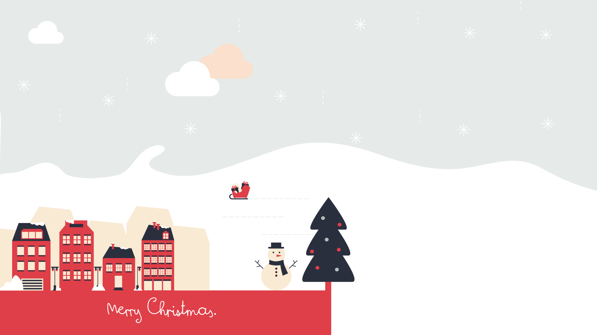 Christmas animated wallpaper full hd