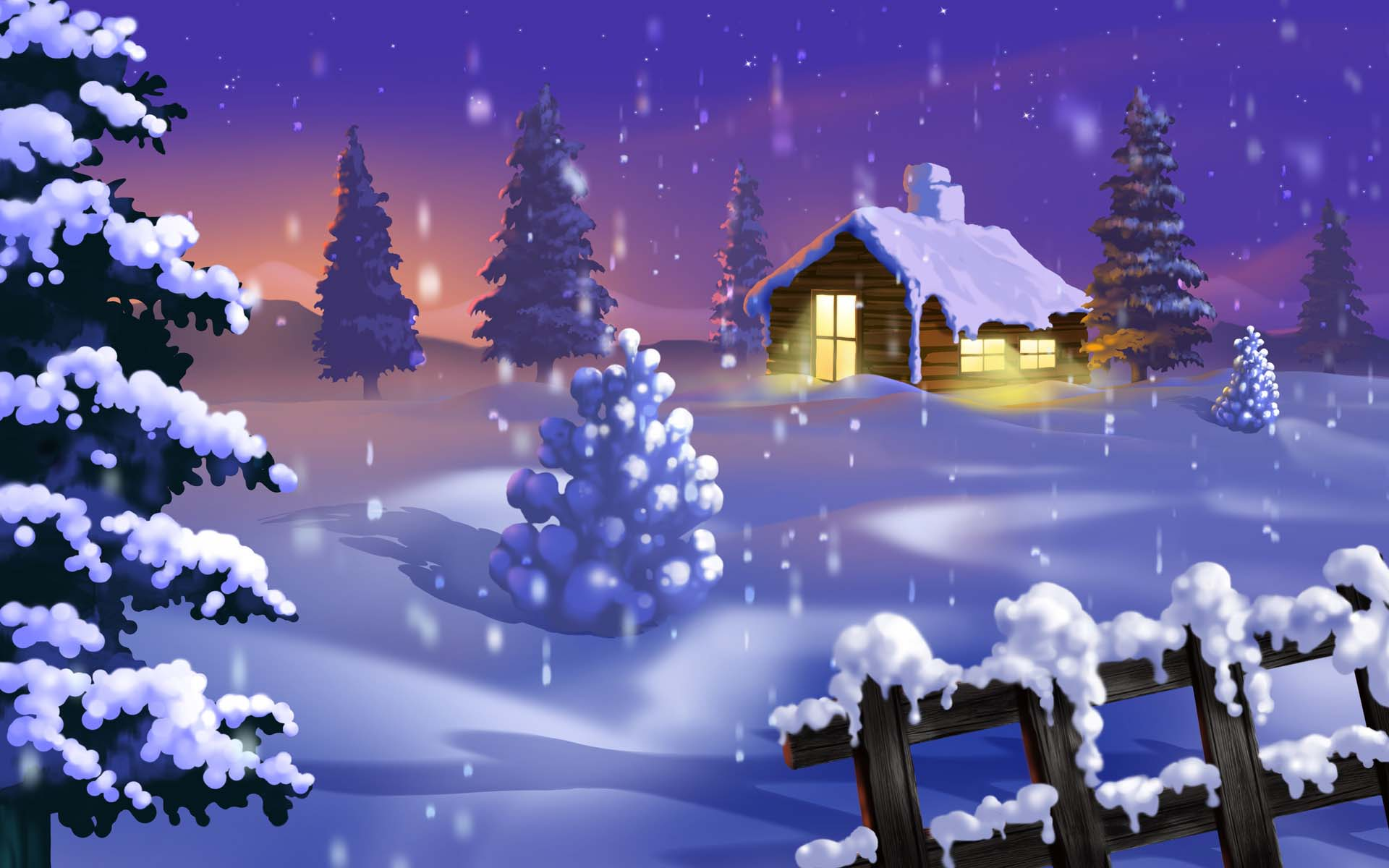 Christmas animated wallpaper