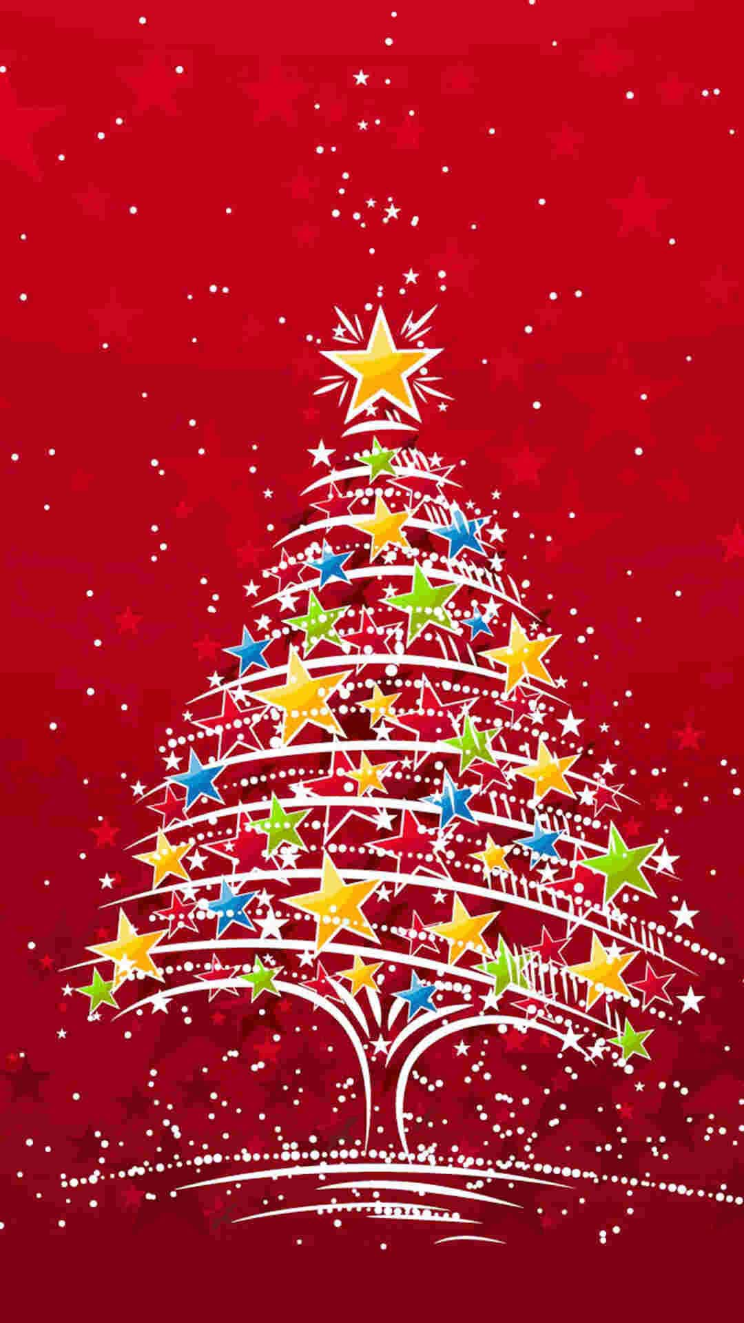 Christmas tree wallpaper mobile