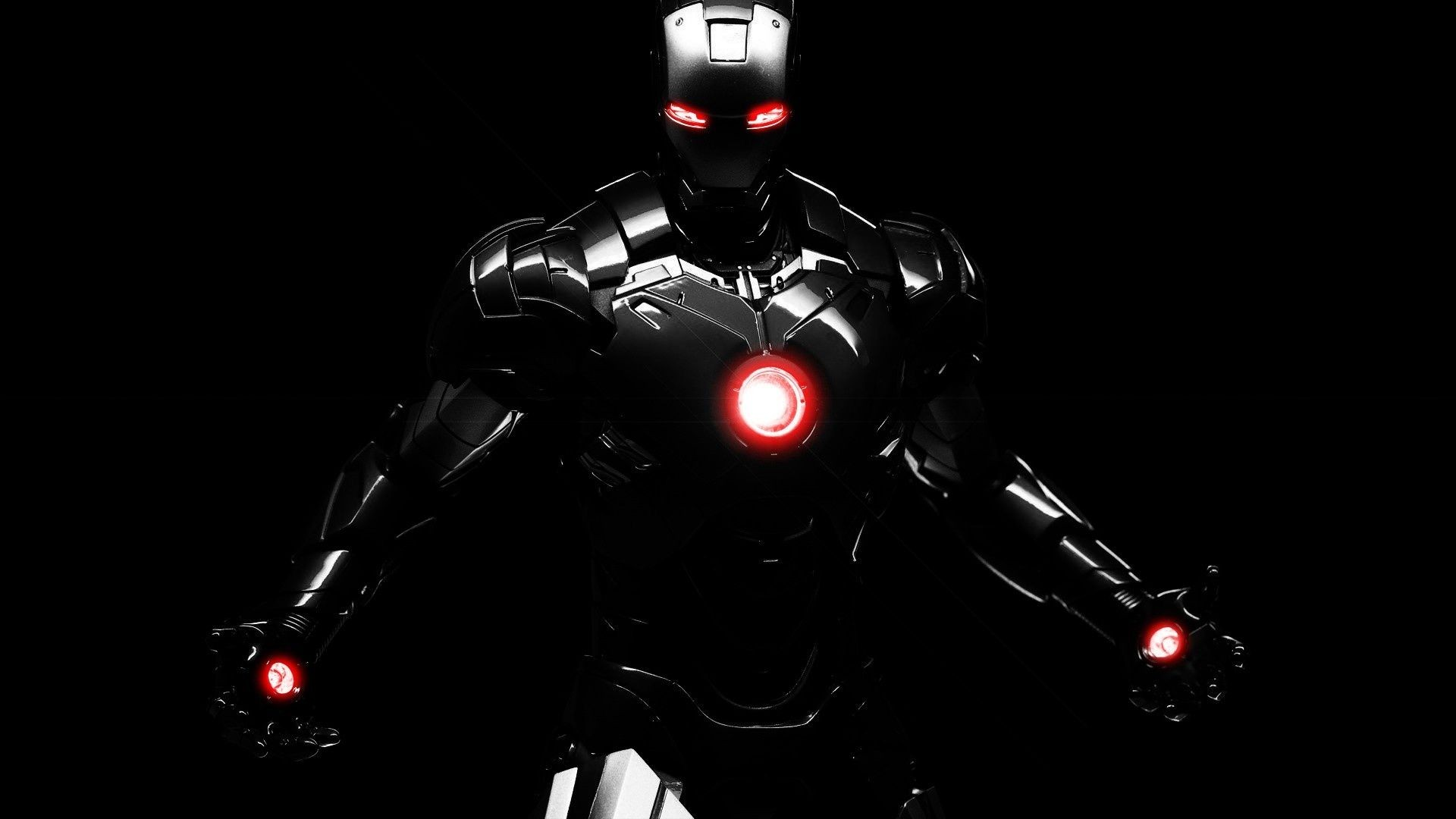 Iron man dark wallpaper