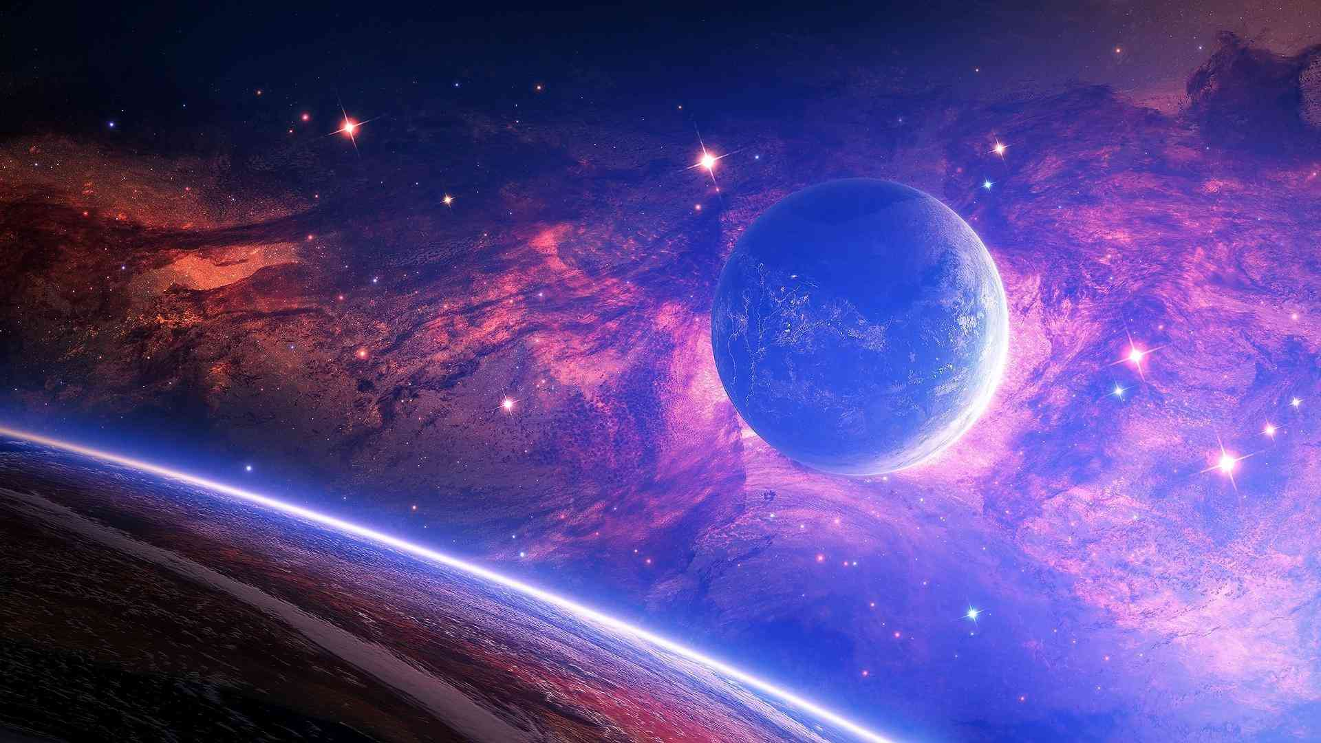 Galaxy space wallpaper