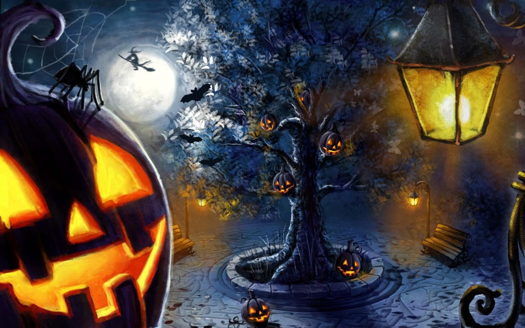 Ảnh nền đẹp cho Halloween