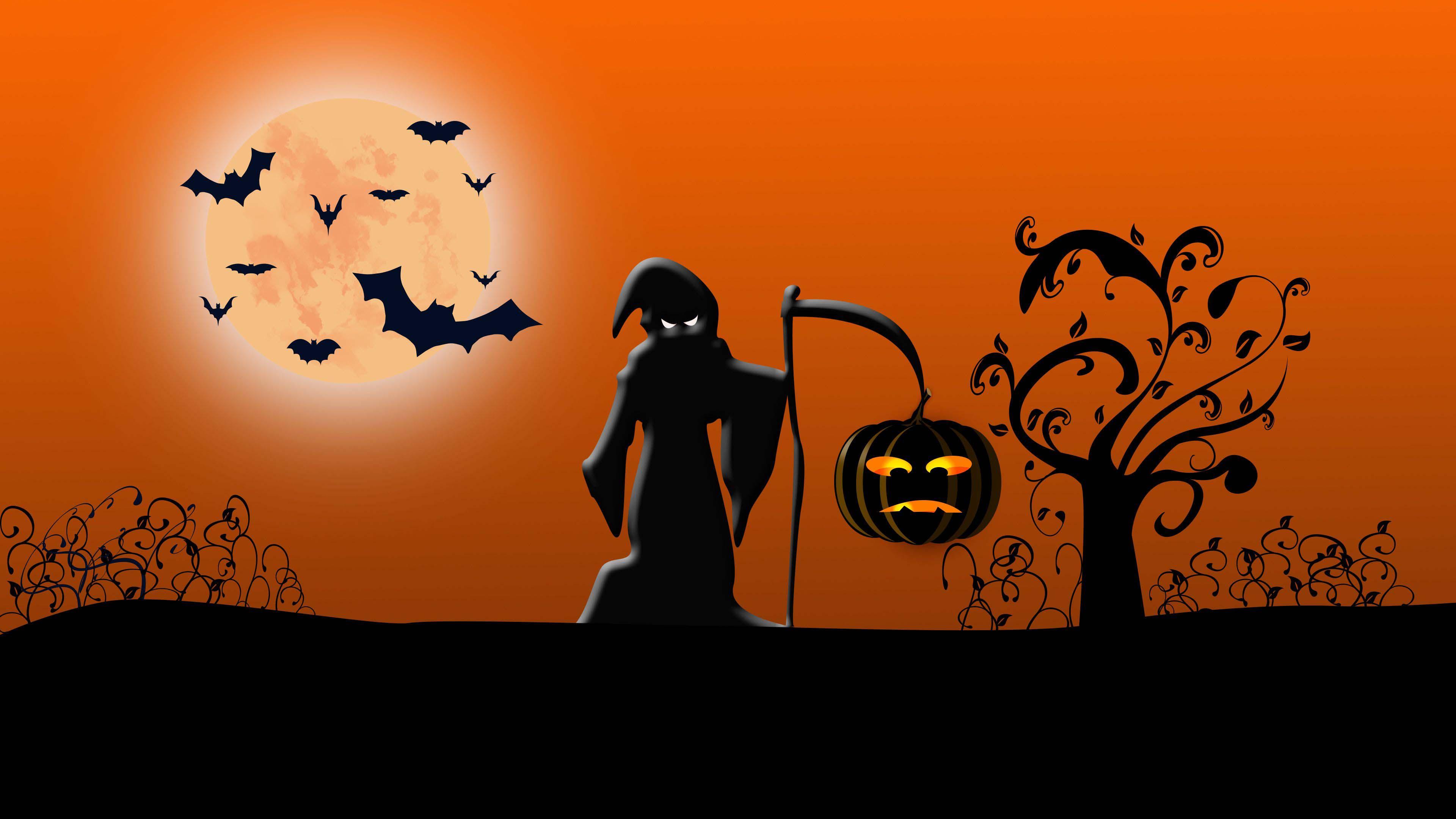 Ảnh nền Halloween 4K