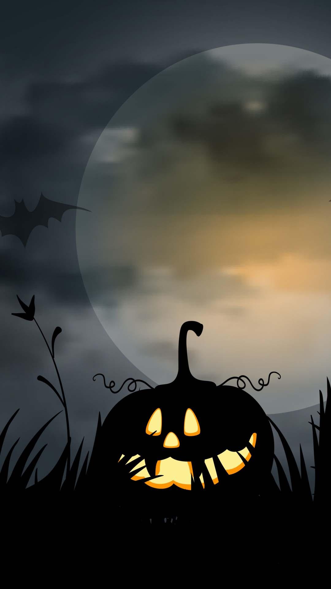 Ảnh nền Halloween cho mobile
