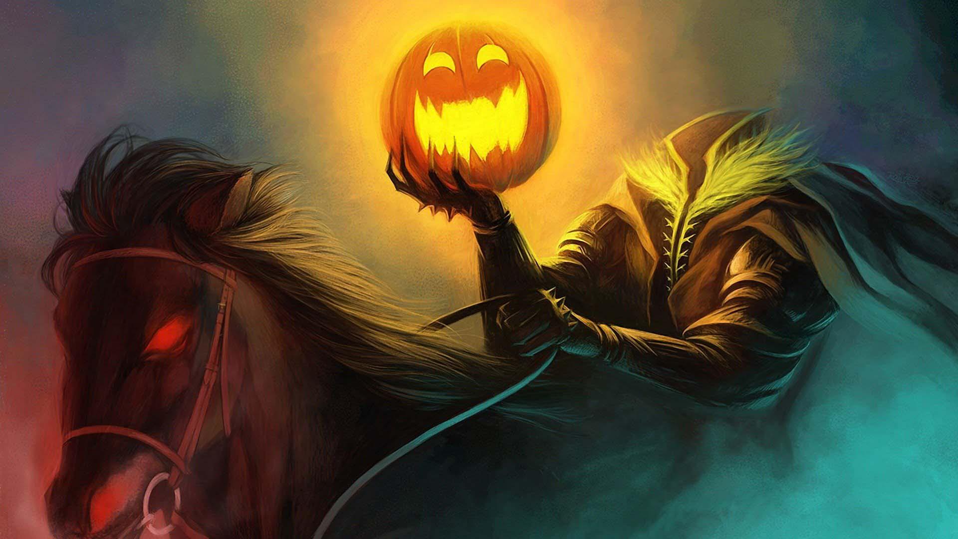 Ảnh nền Halloween dễ thương