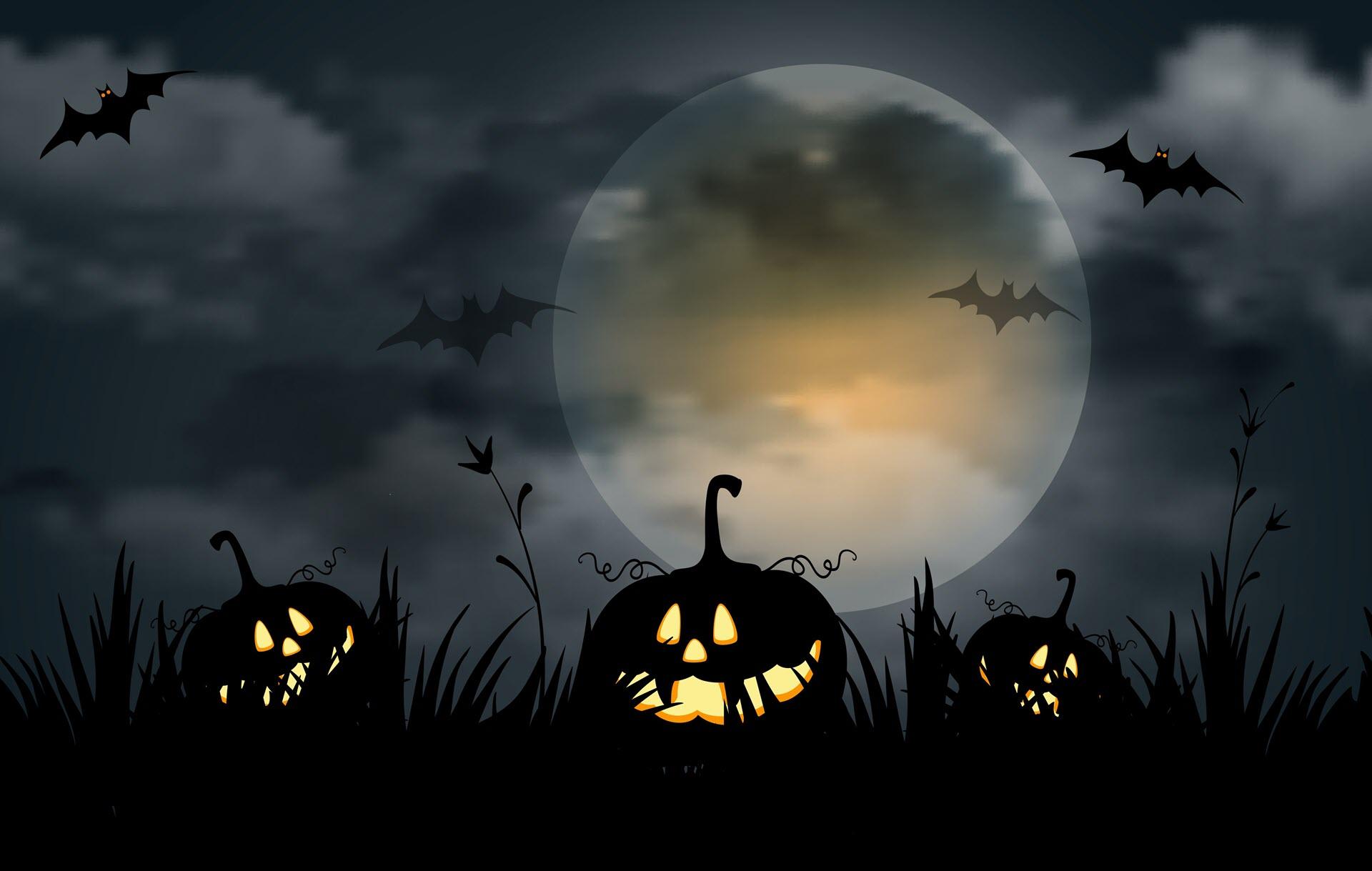 Ảnh nền Halloween đẹp nhất
