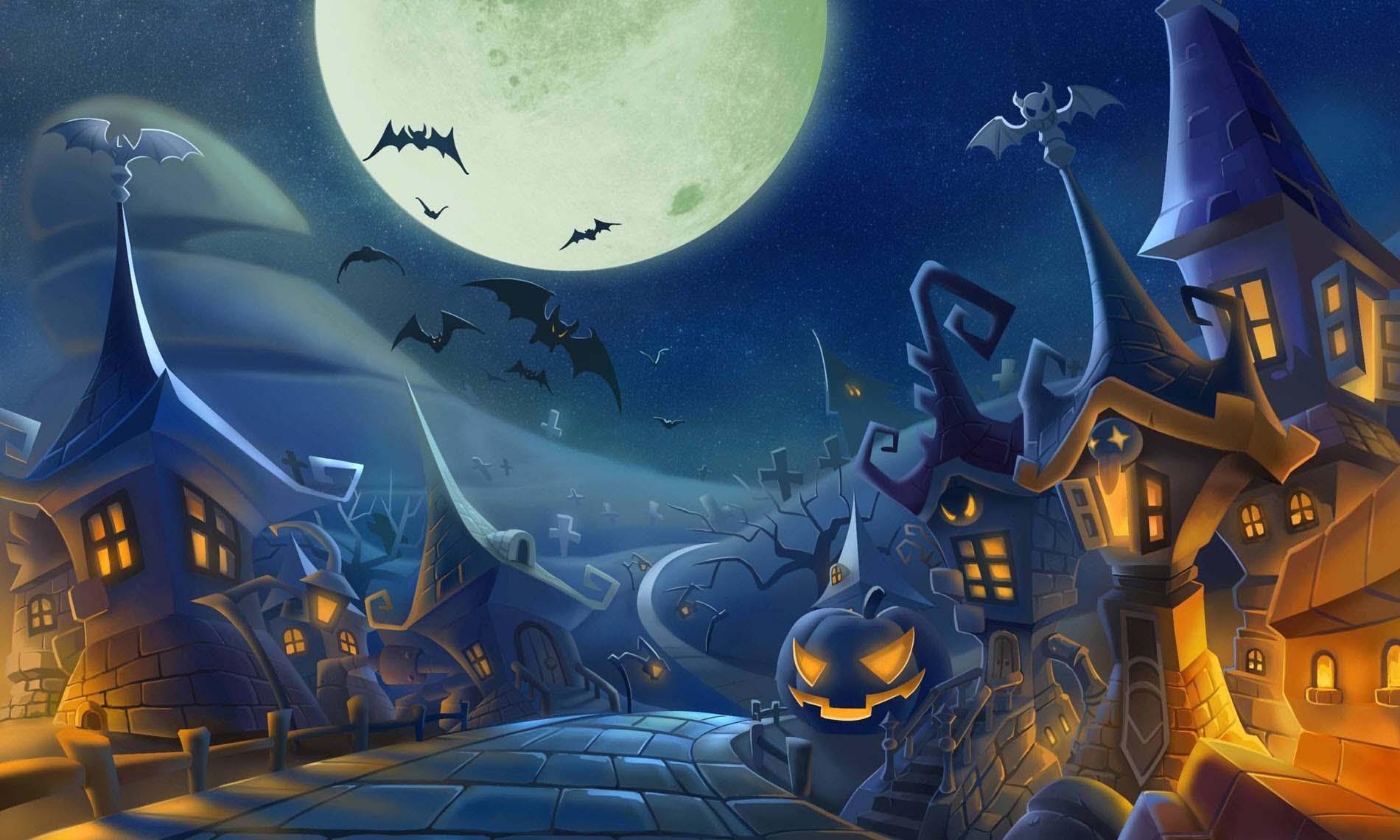 Ảnh nền Halloween đẹp và độc