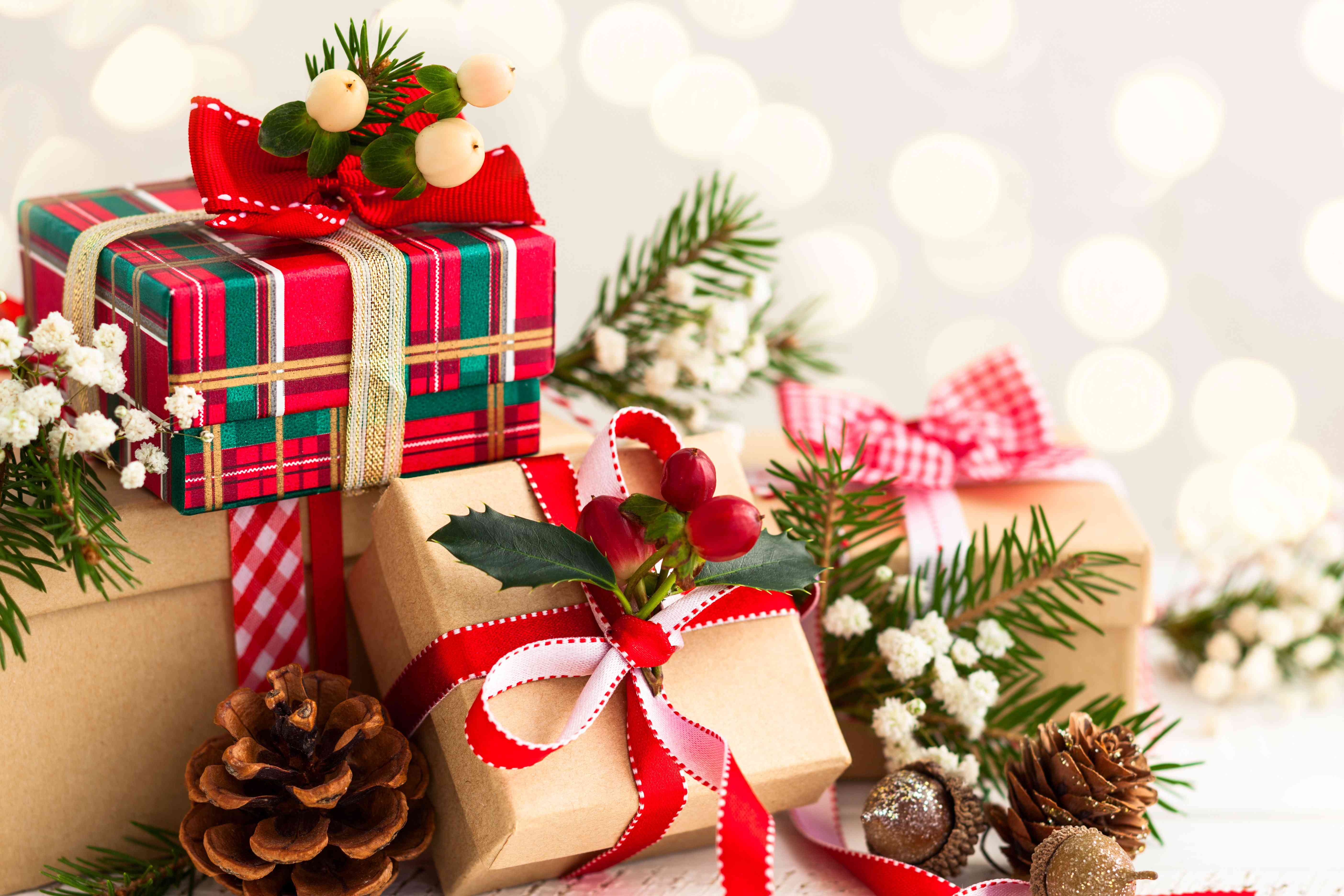 Ảnh nền quà tặng giáng sinh