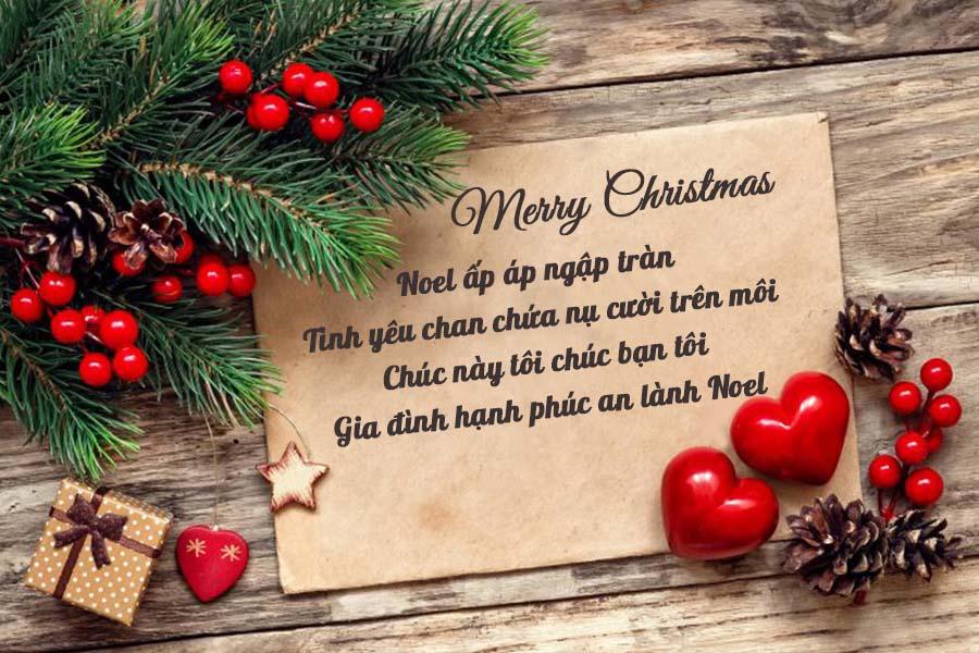 Ảnh thiệp mừng giáng sinh đẹp