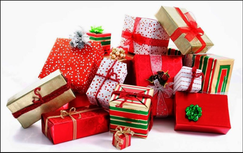 Các mẫu trang trí hộp quà giáng sinh đẹp và ấn tượng
