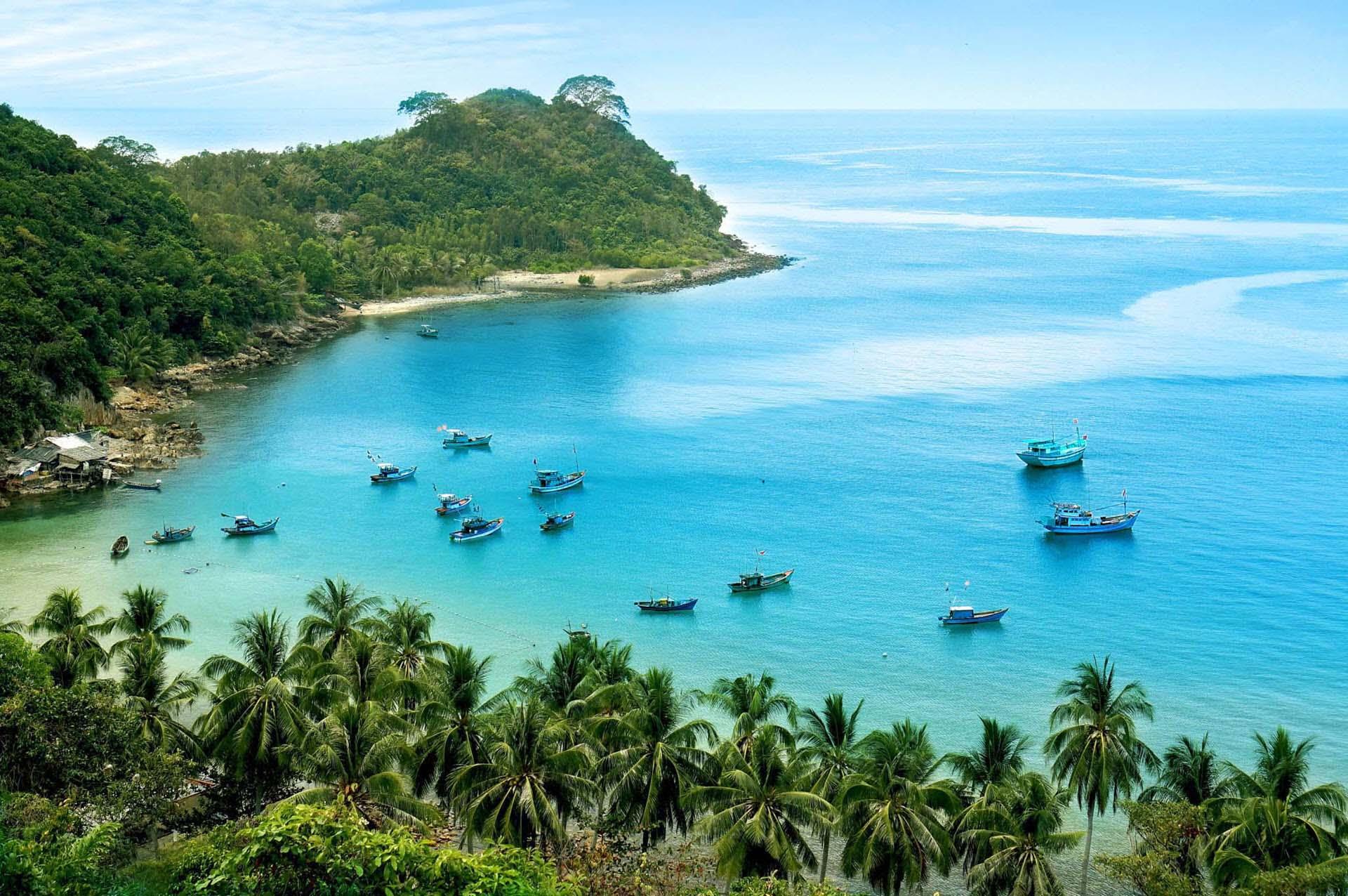 Cảnh đẹp đảo Nam Du Việt Nam