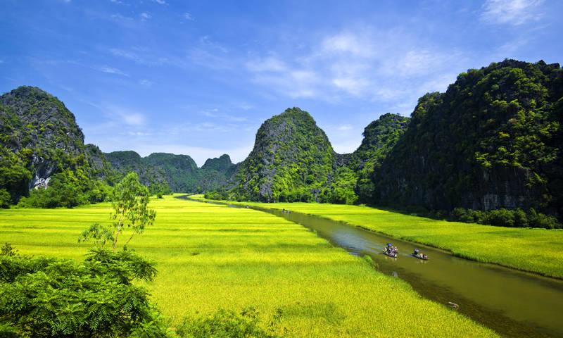 Cảnh đẹp Ninh Bình Việt Nam