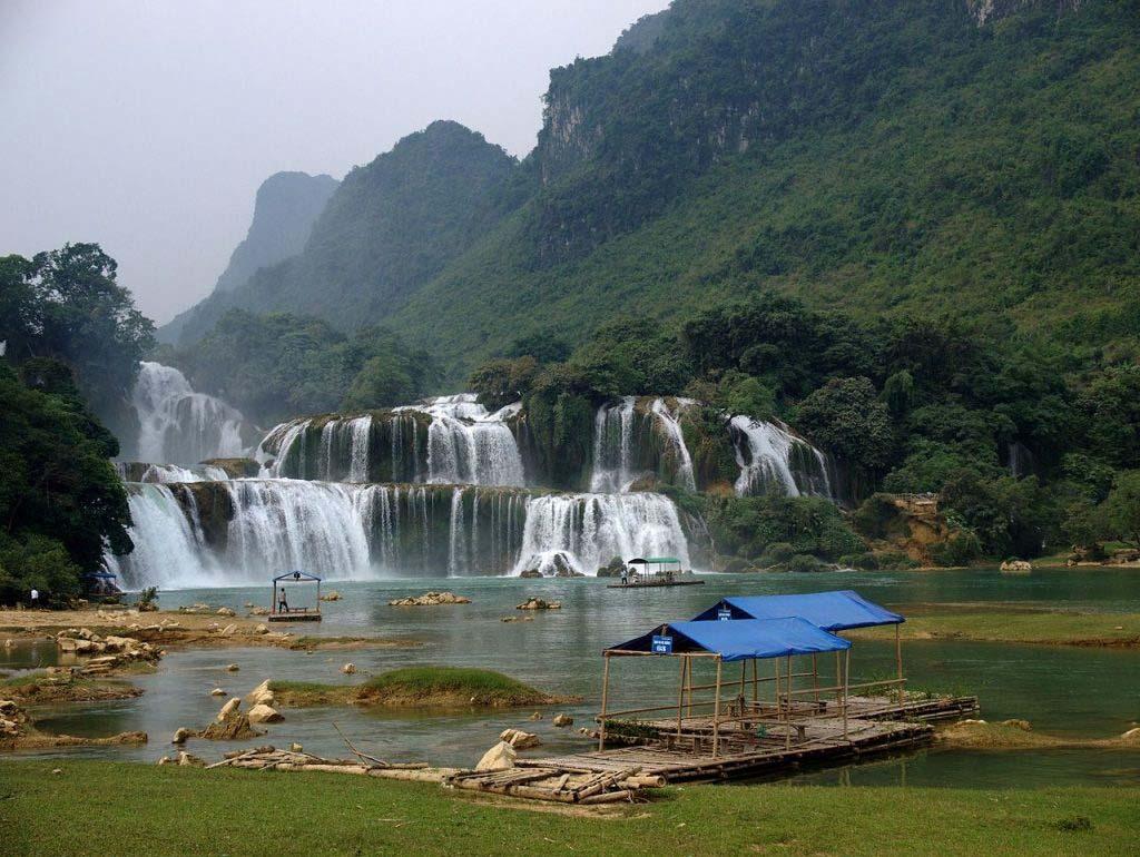 Cảnh đẹp thác nước Việt Nam