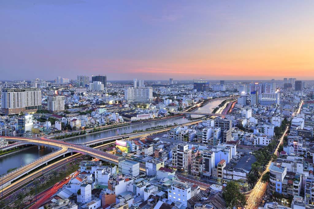 Cảnh đẹp thành phố hiện đại Việt Nam