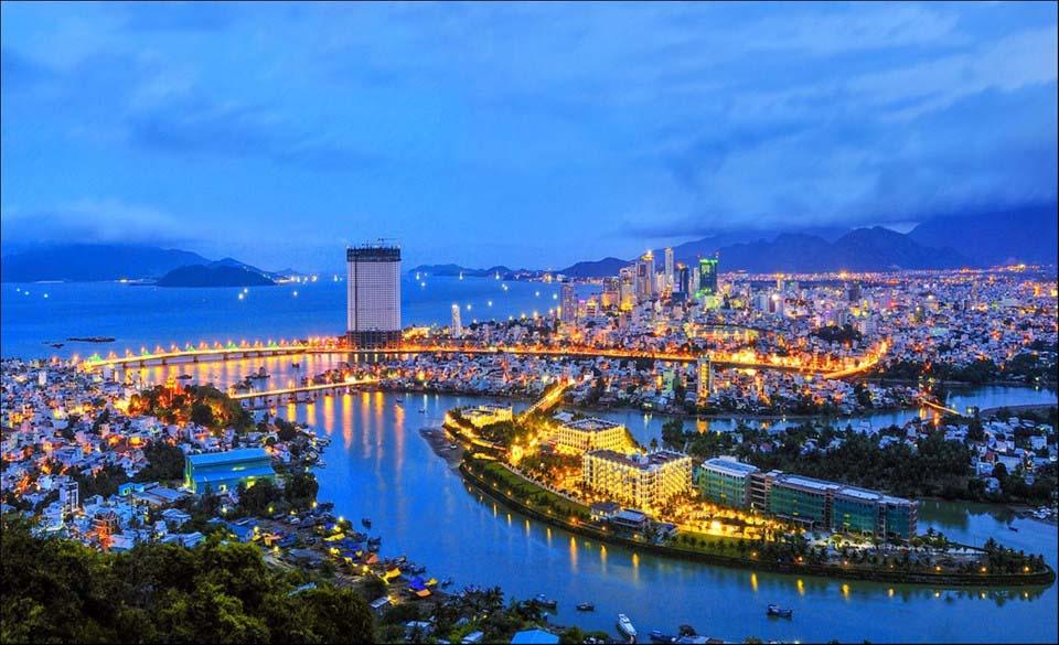 Cảnh đẹp thành phố ở Việt Nam