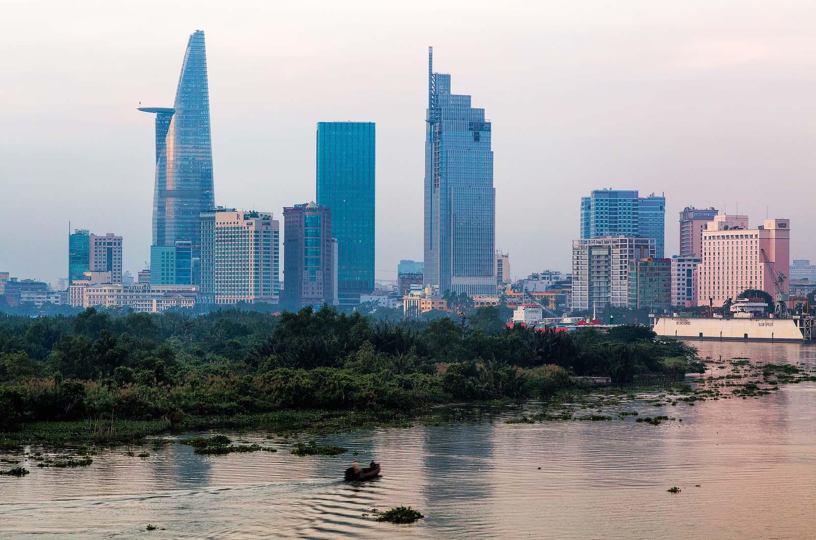 Cảnh đẹp thành phố Việt Nam