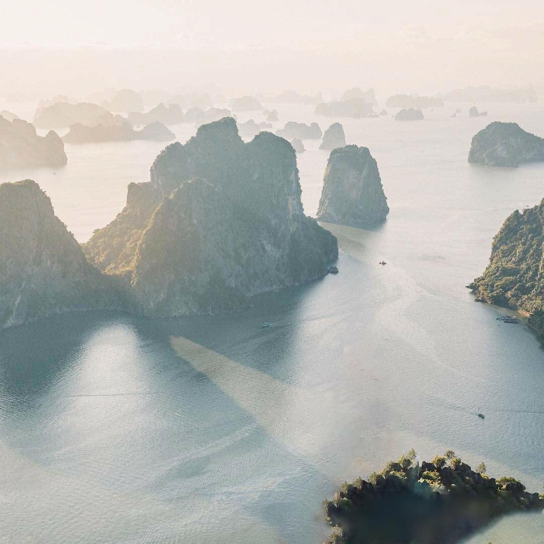 Cảnh đẹp Việt Nam từ trên cao