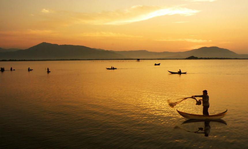 Cảnh đẹp Việt Nam xế chiều