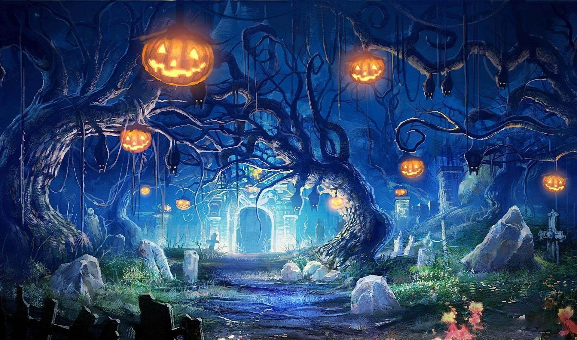 Hình ảnh Halloween đẹp cho máy tính