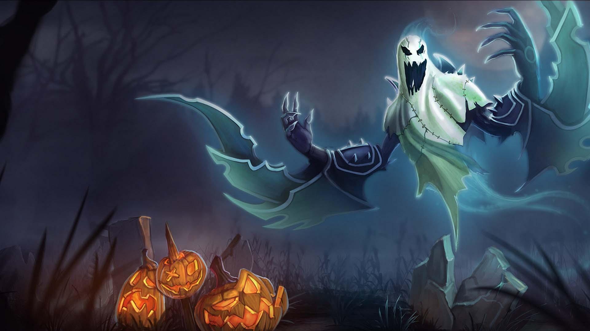 Hình nền Halloween game